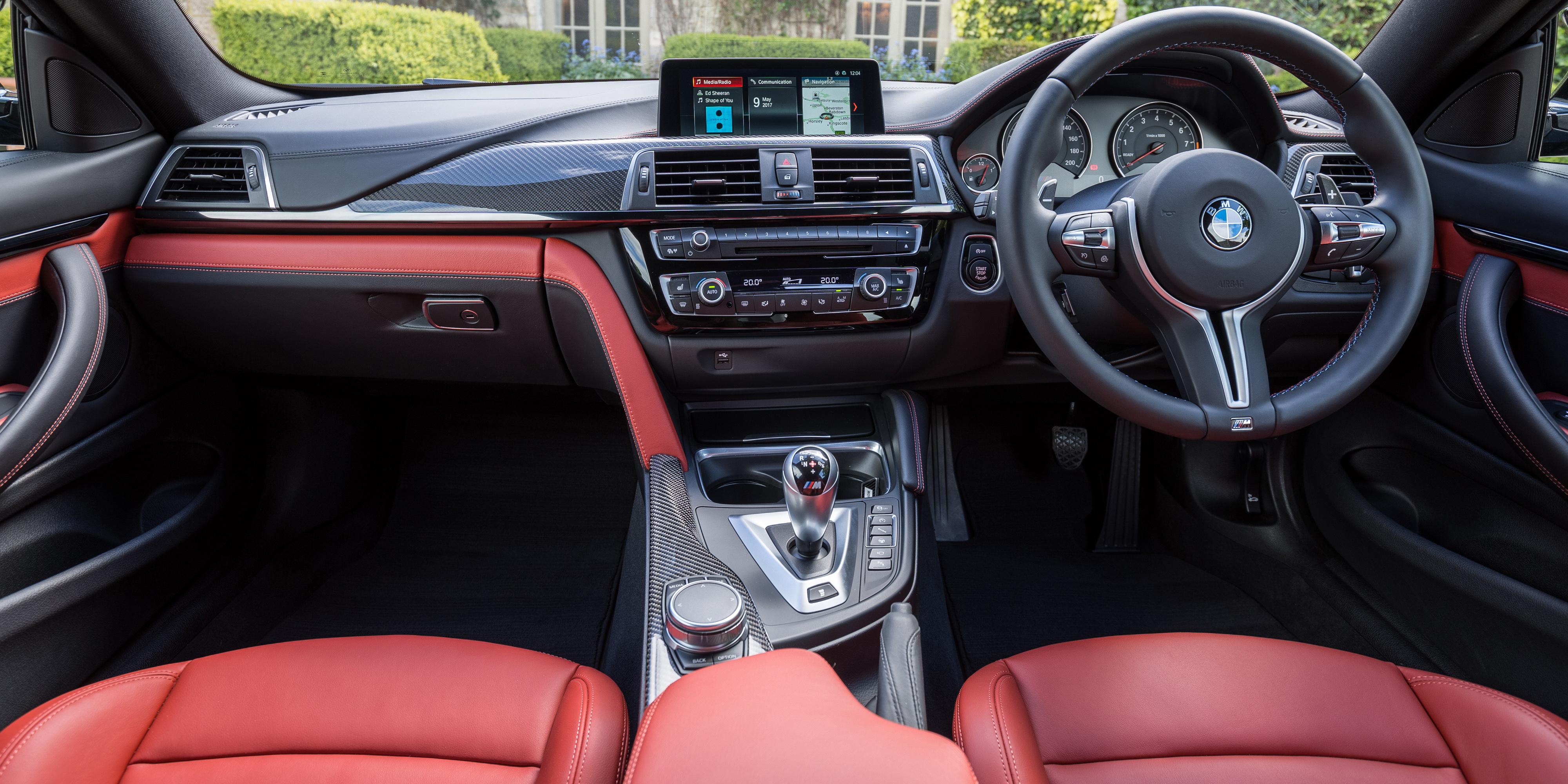 BMW M4 Interior & Infotainment   carwow