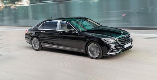 3. Mercedes Maybach S-Class