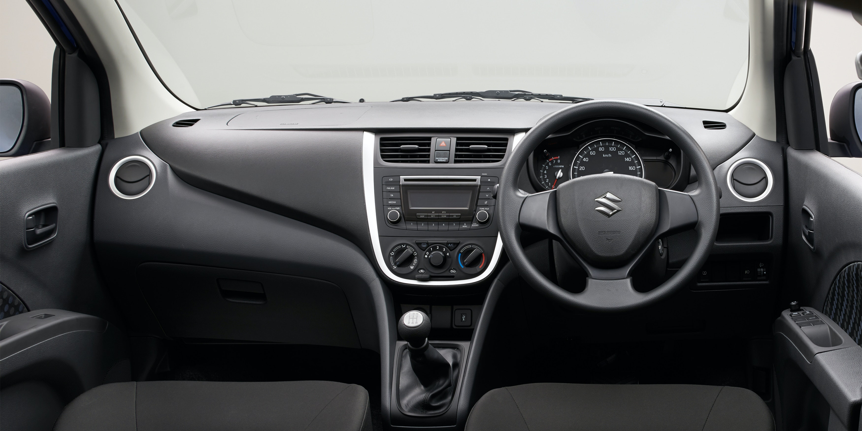 What the dashboard lacks in style and quality, it more than makes up for with ease of use
