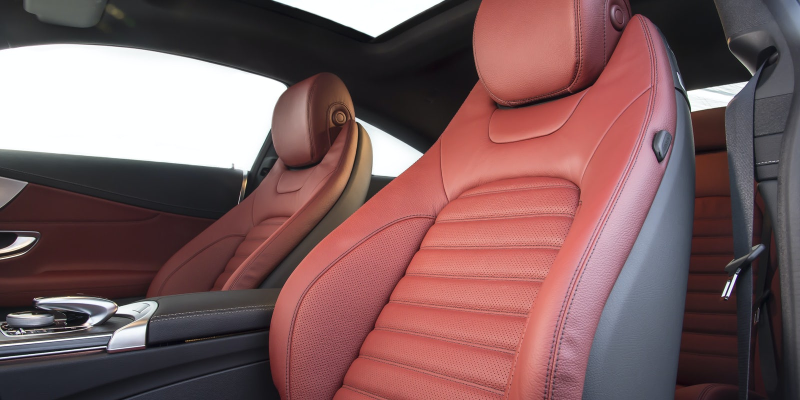 Mercedes C Class Coupe Interior And Infotainment Carwow