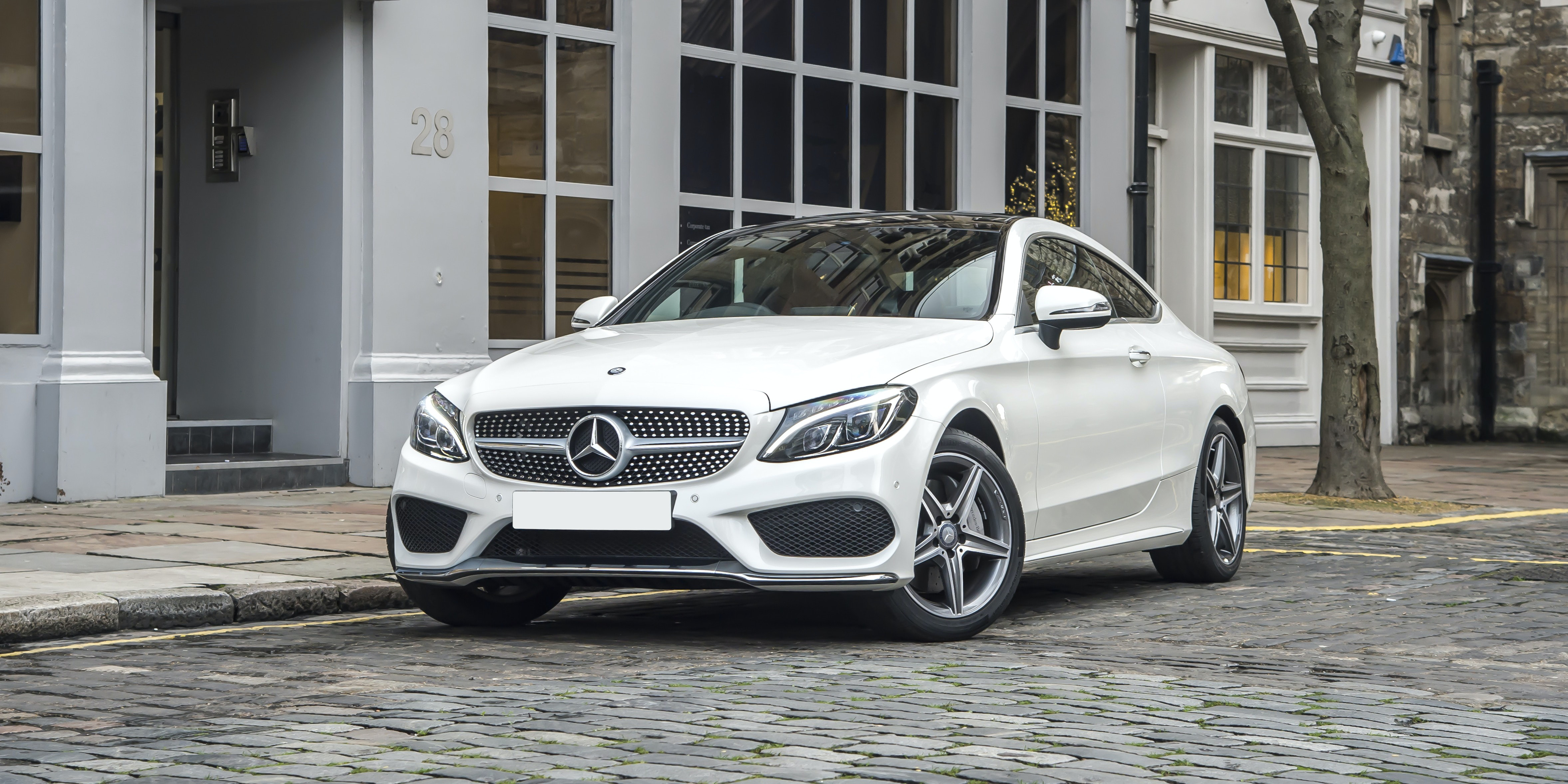mercedes c-class coupe review   carwow