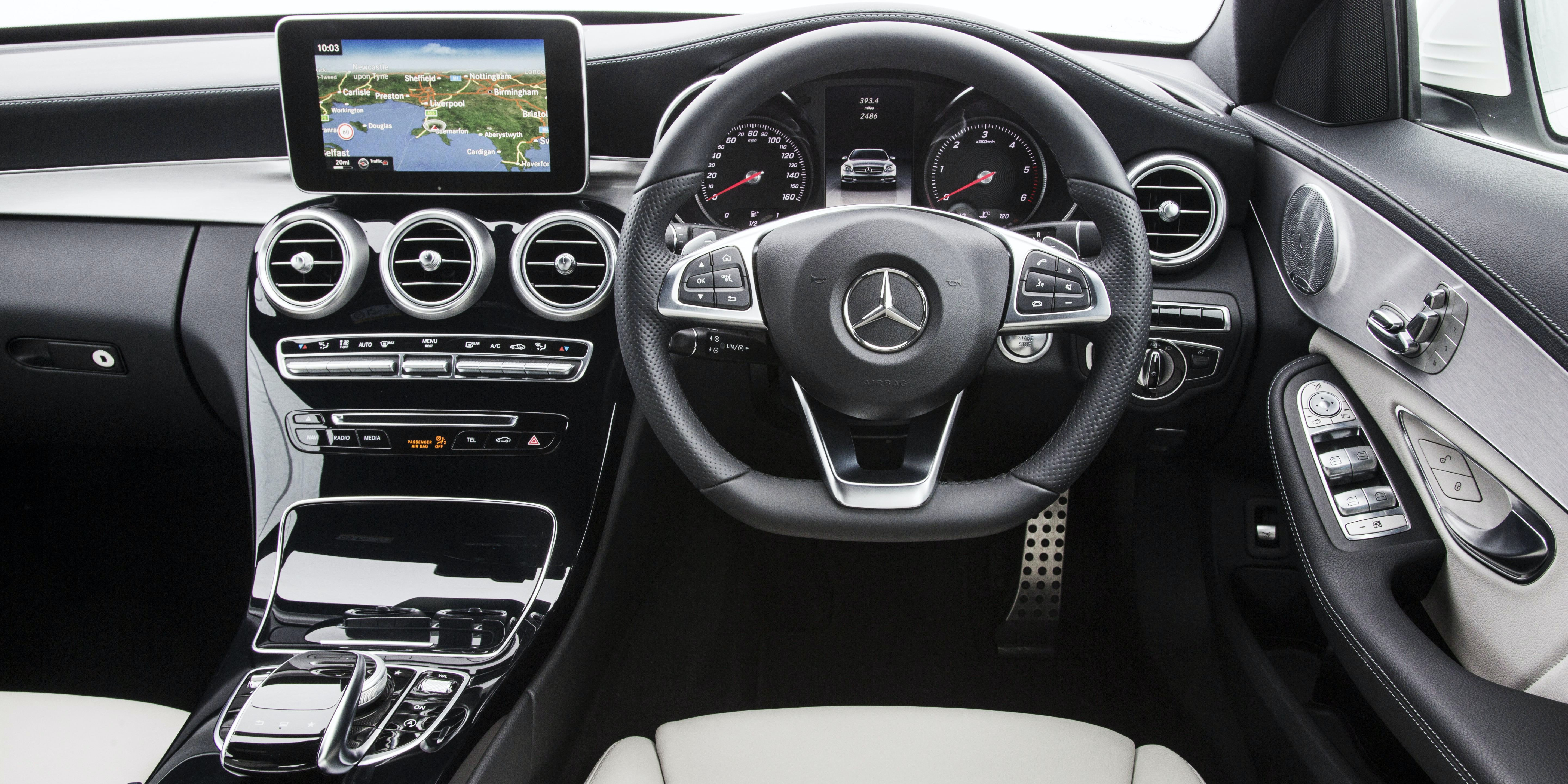 Mercedes C Class (2014 2017) Interior And Infotainment | Carwow