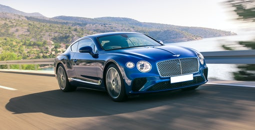 1. Bentley Continental GT