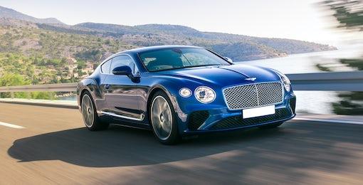 1. Bentley Continental GT