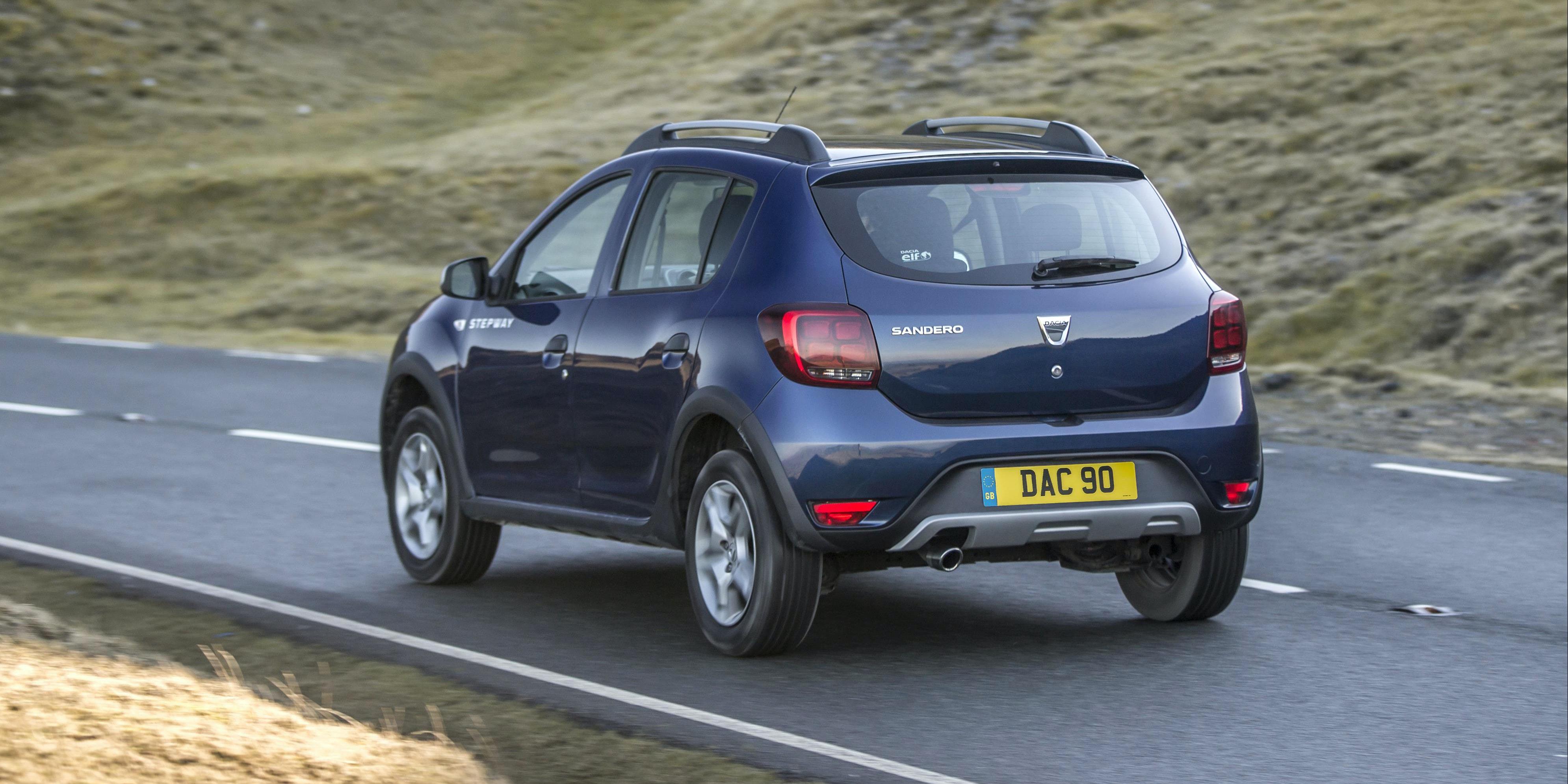 Dacia Sandero Stepway Performance Handling Amp Comfort Carwow