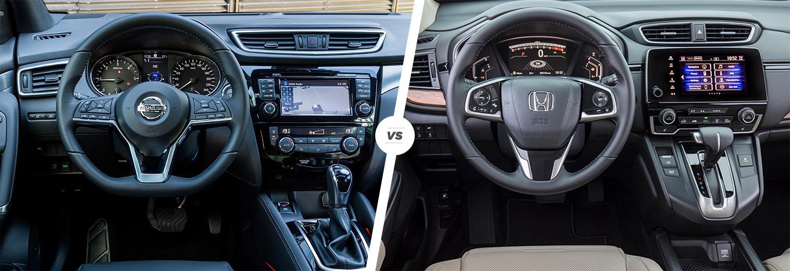 Mazda Cx 5 2017 Interior >> Nissan Qashqai vs Honda CR-V: which is best? | carwow