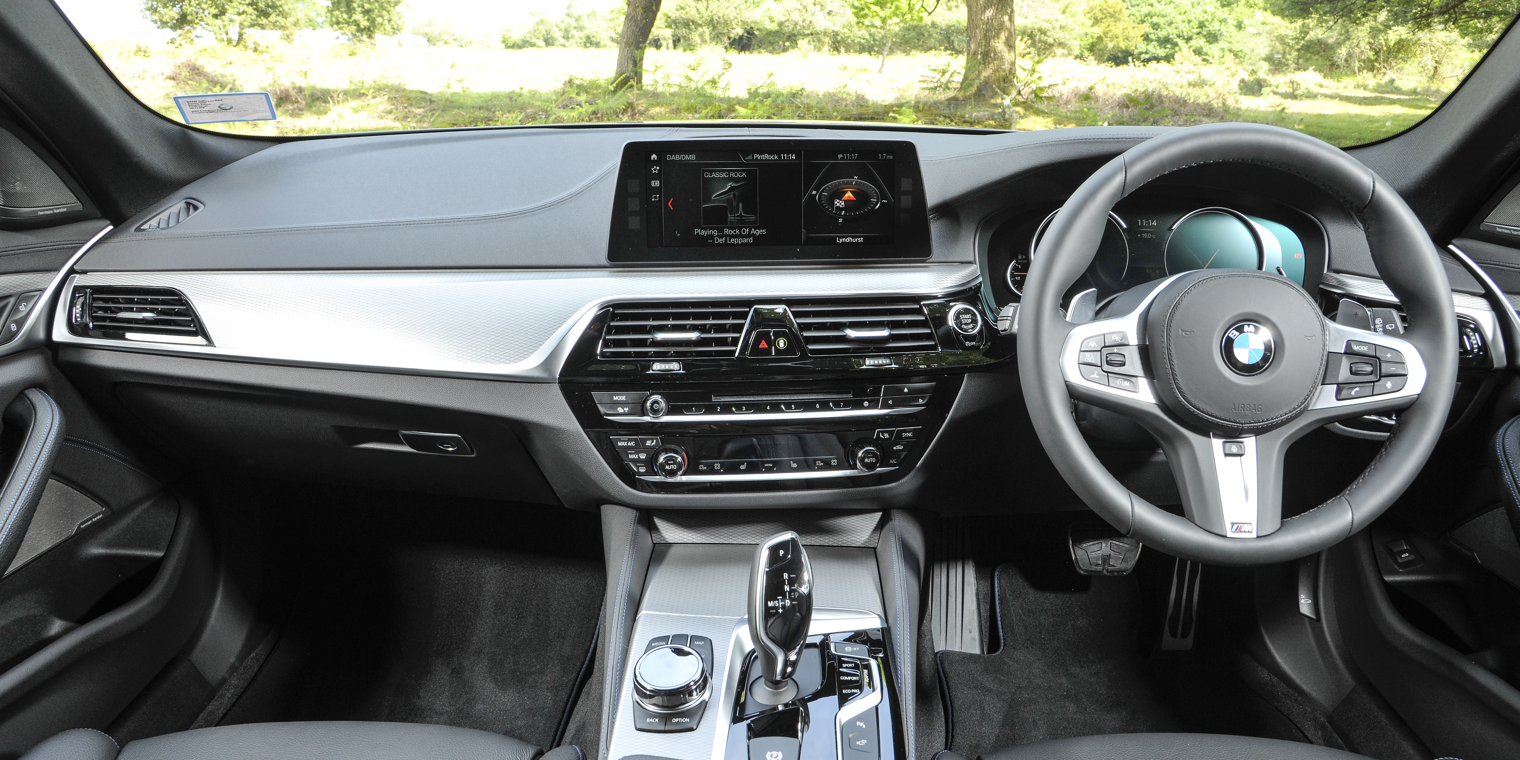 Bmw 5 Series Touring Interior Infotainment Carwow