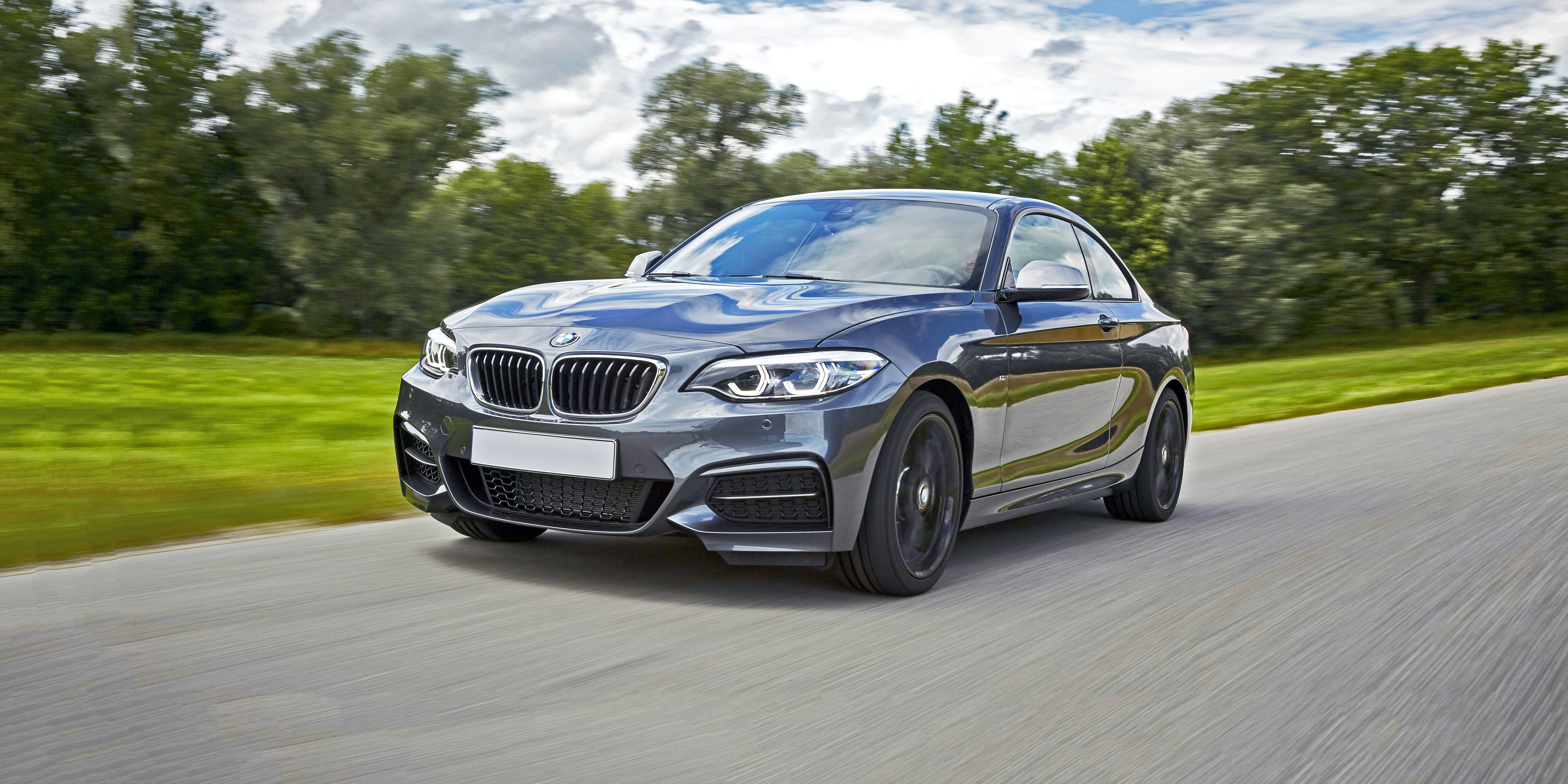 The M240i looks just like a 2 Series, with slightly sportier bumpers