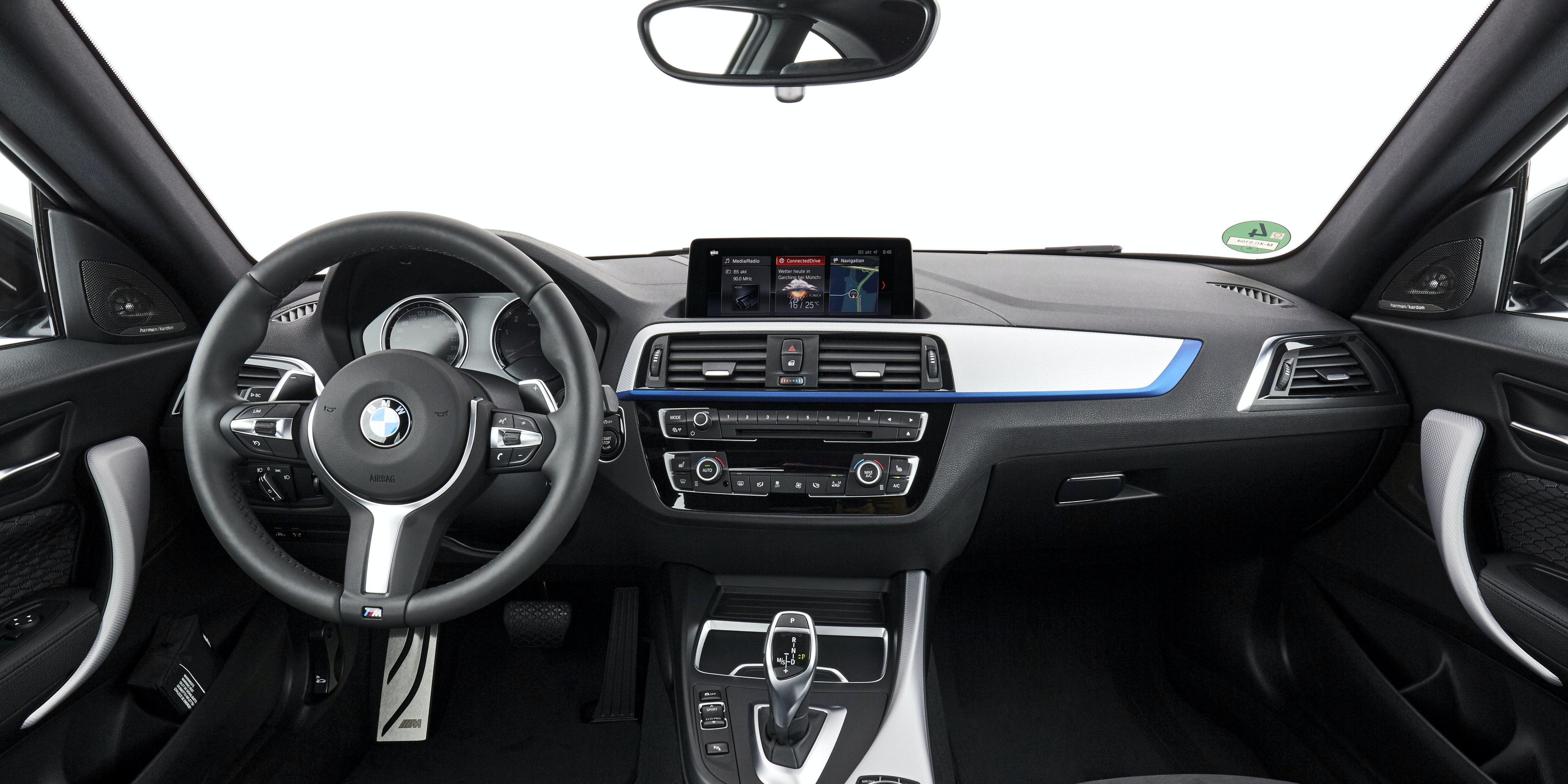 The dashboard isn't that exciting, but the seating position feels sporty