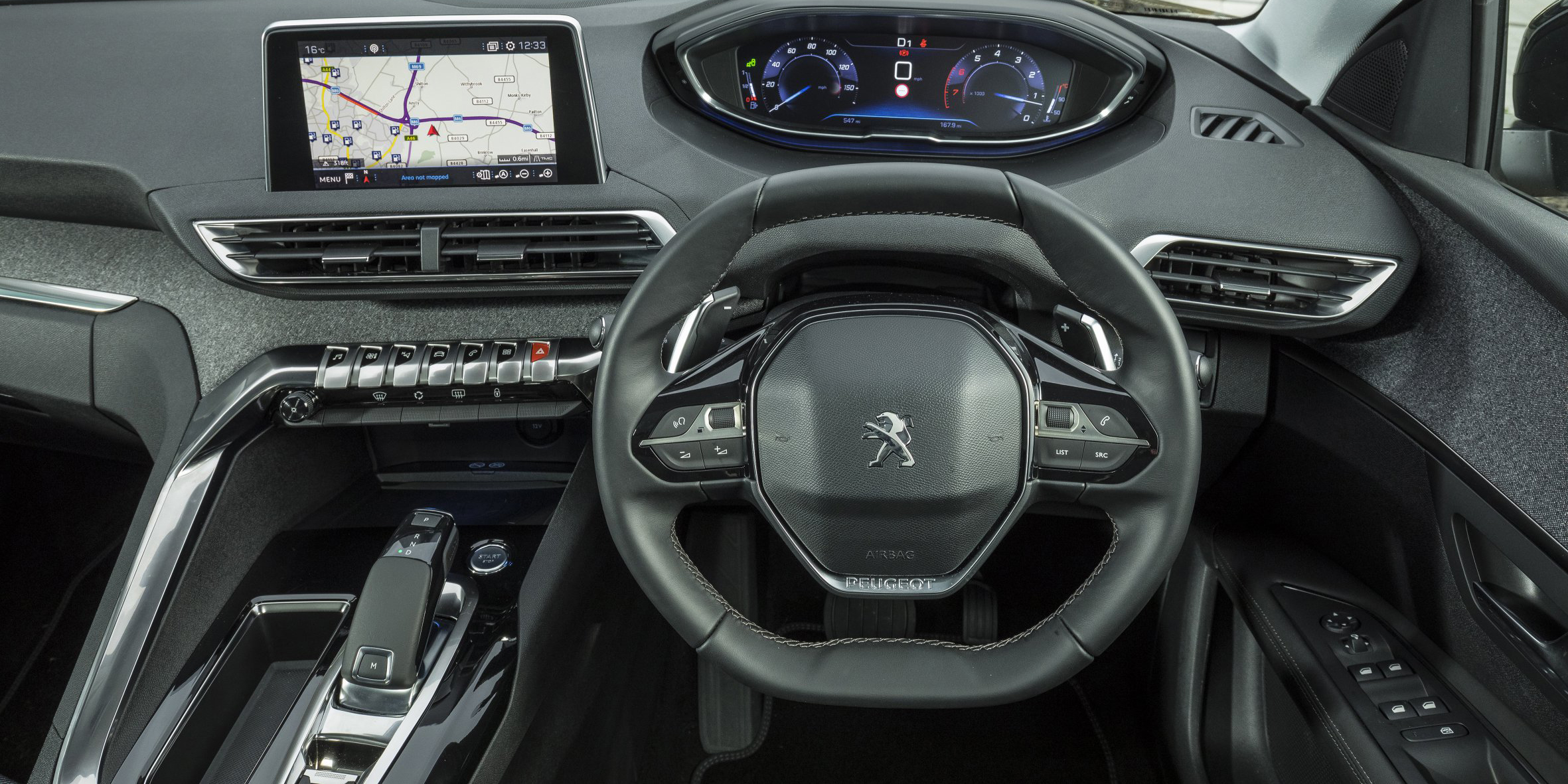 Peugeot 3008 Interior Infotainment Carwow