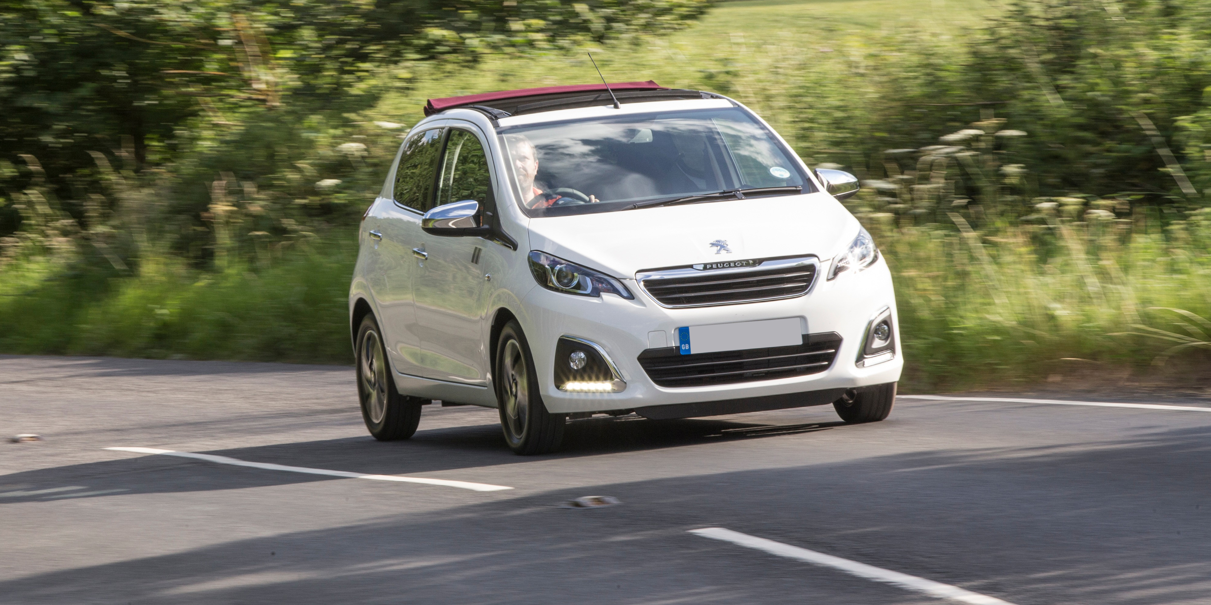 New Peugeot 108 TOP Convertible Review   carwow