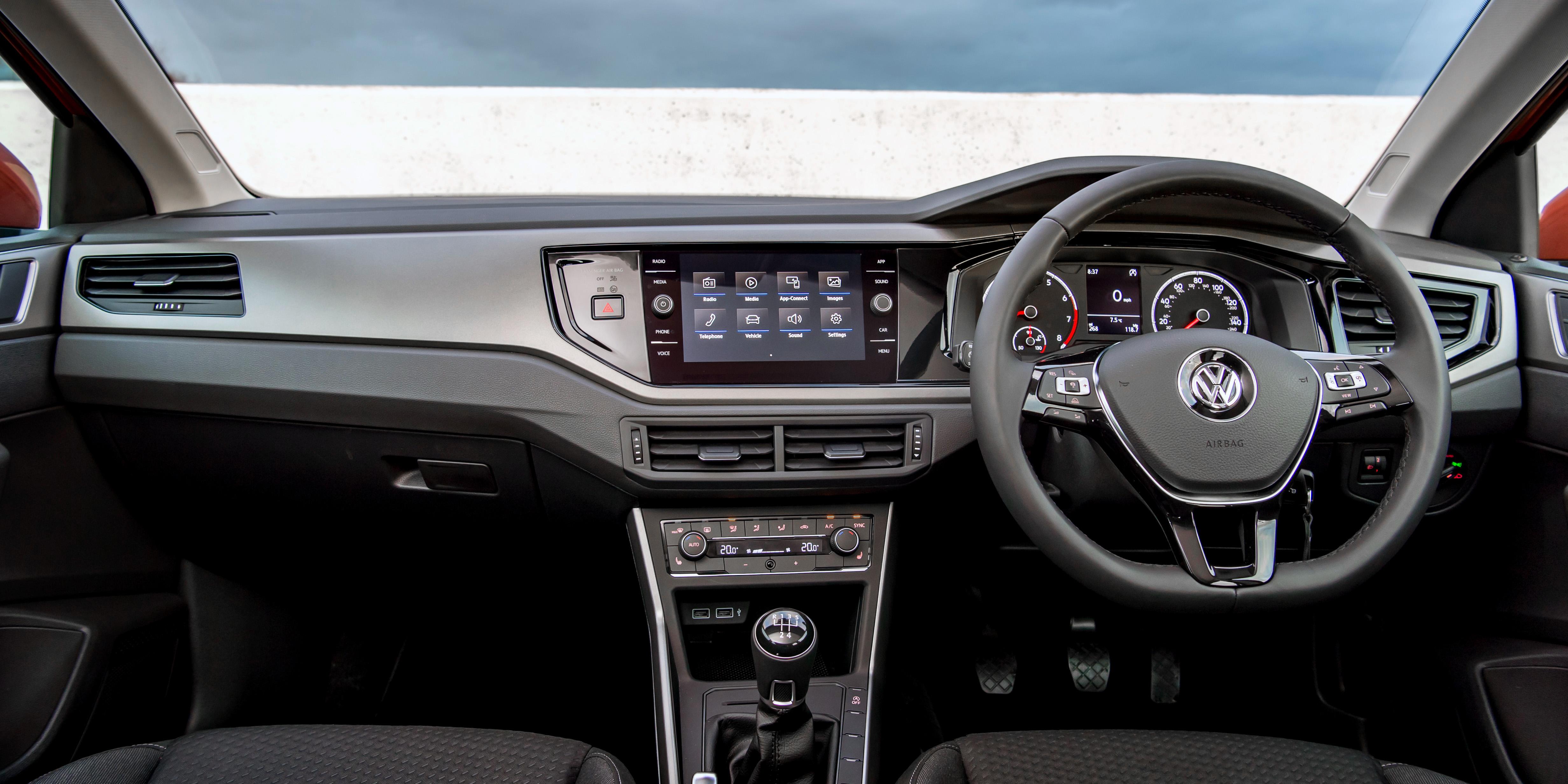 Volkswagen Polo Interior Infotainment Carwow