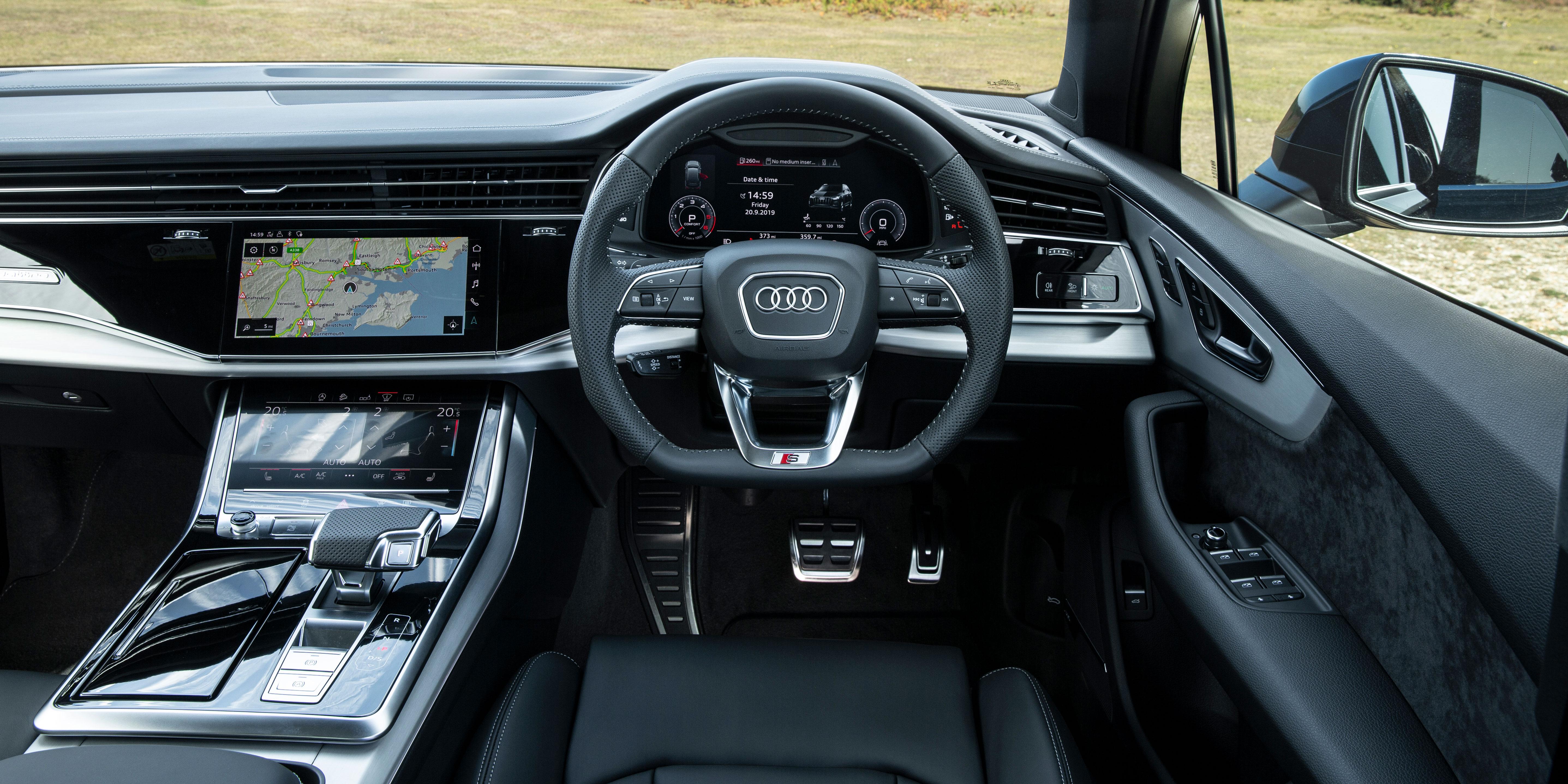Audi Q7 Interior Infotainment Carwow