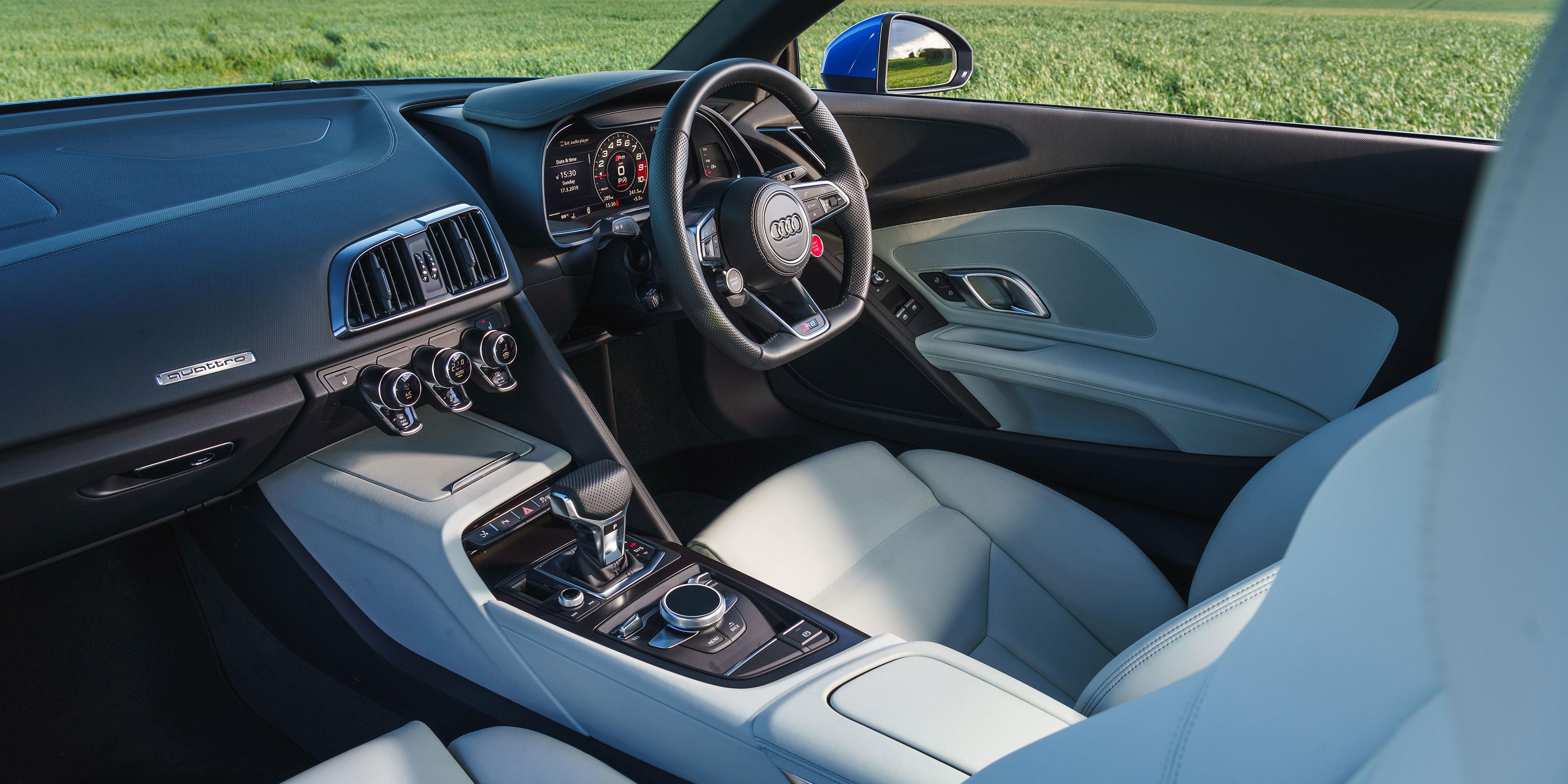 Audi R8 Interior Infotainment Carwow