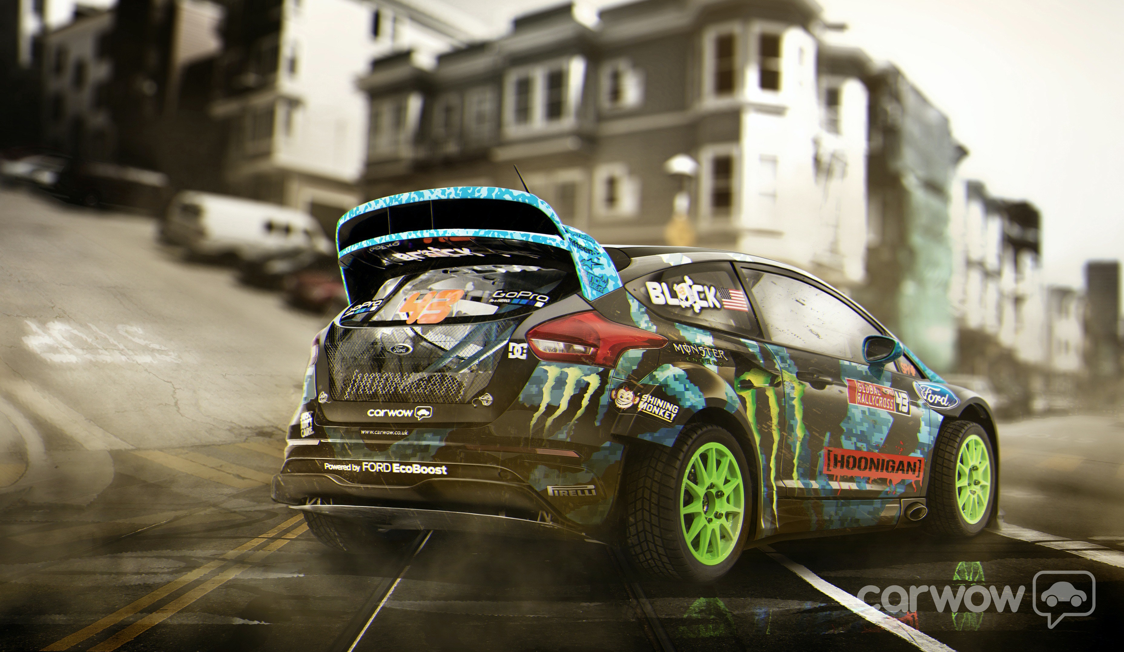 2015 Ken Block Ford Focus Rs Gymkhana Imagined By Carwow
