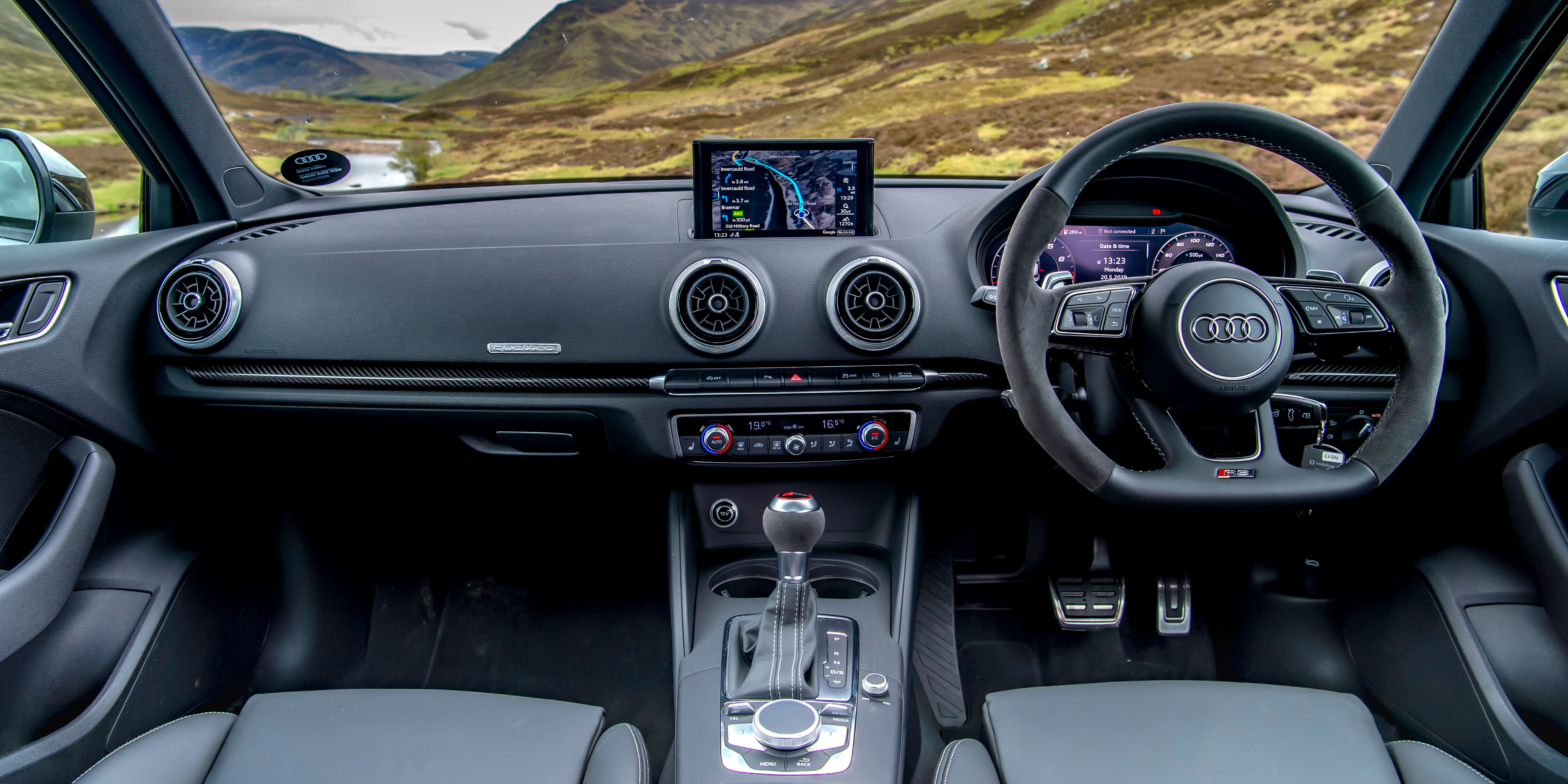 Audi Rs3 Sportback Interior Infotainment Carwow