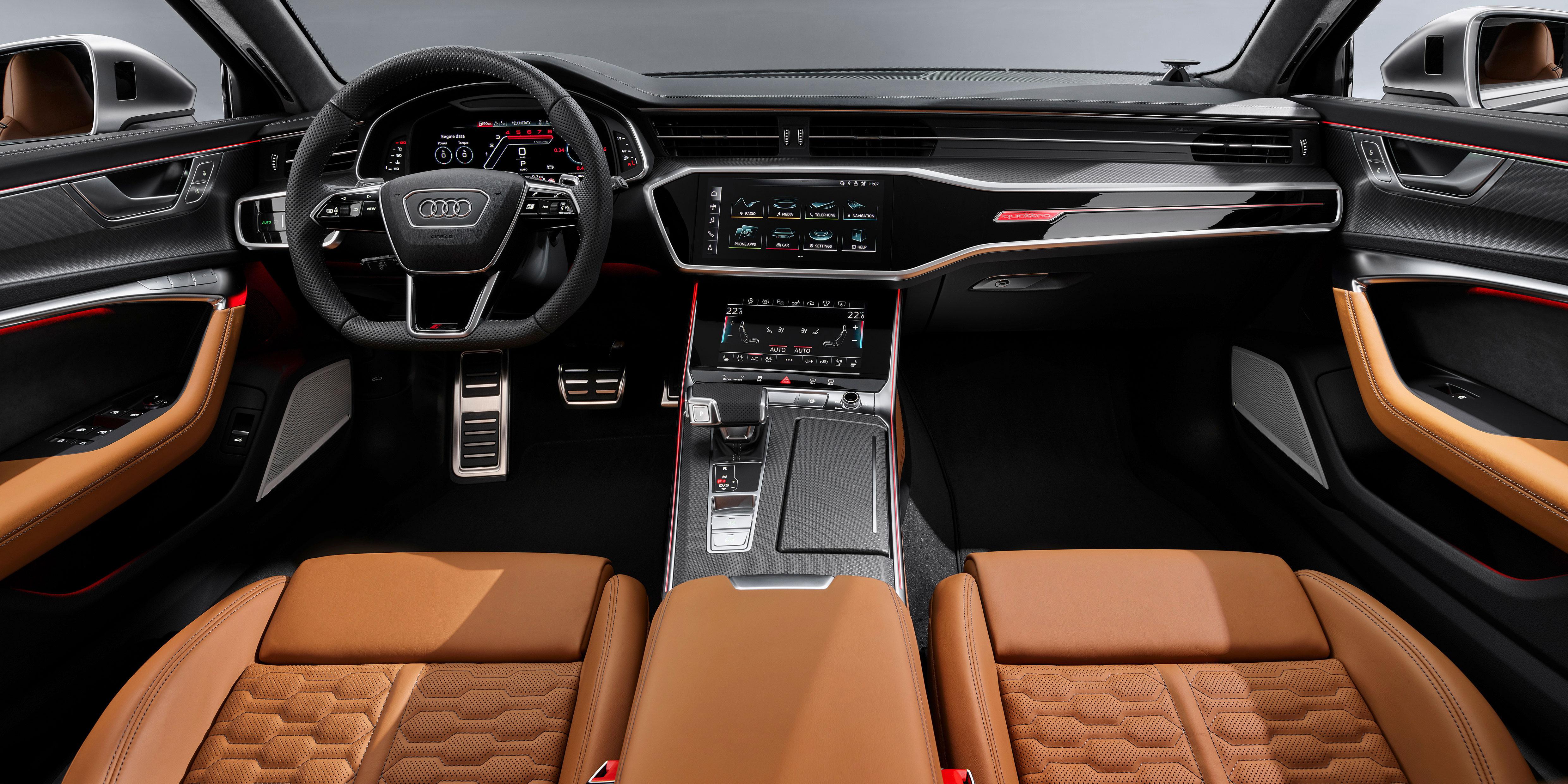 Audi RS6 Avant Interior & Infotainment | carwow
