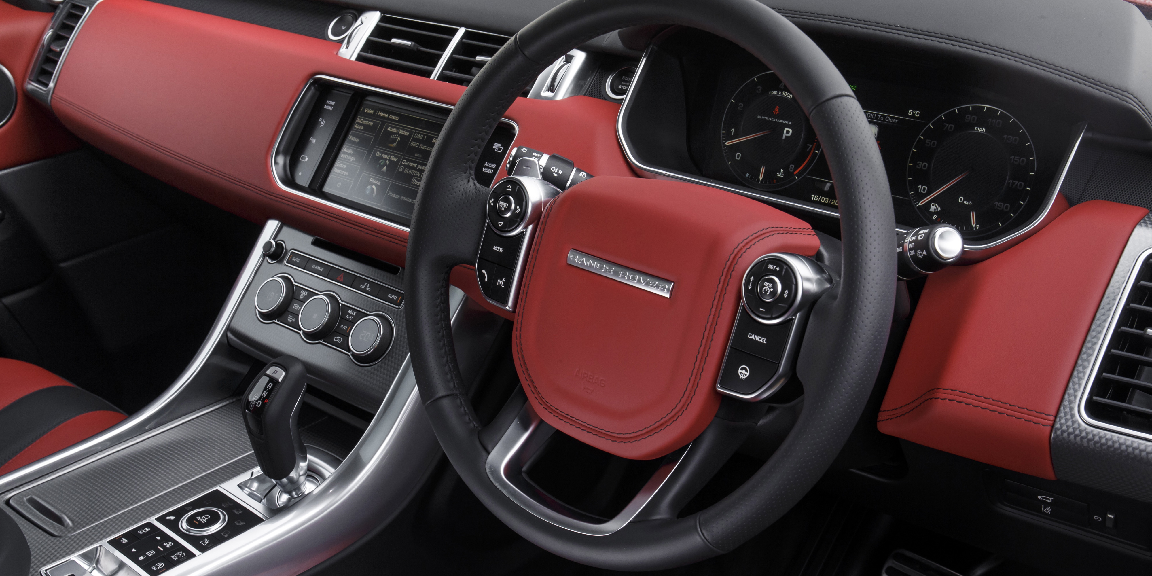 Range Rover Sport Interior >> Land Rover Range Rover Sport Svr Interior Infotainment