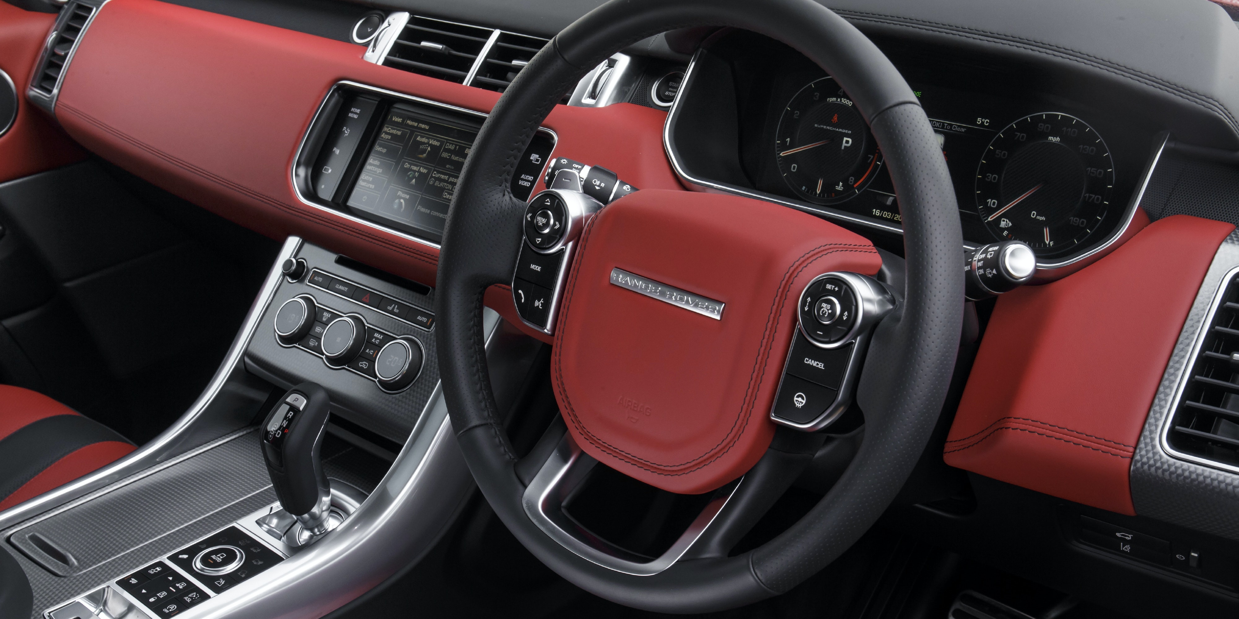 Land Rover Range Rover Sport Svr Interior Practicality And