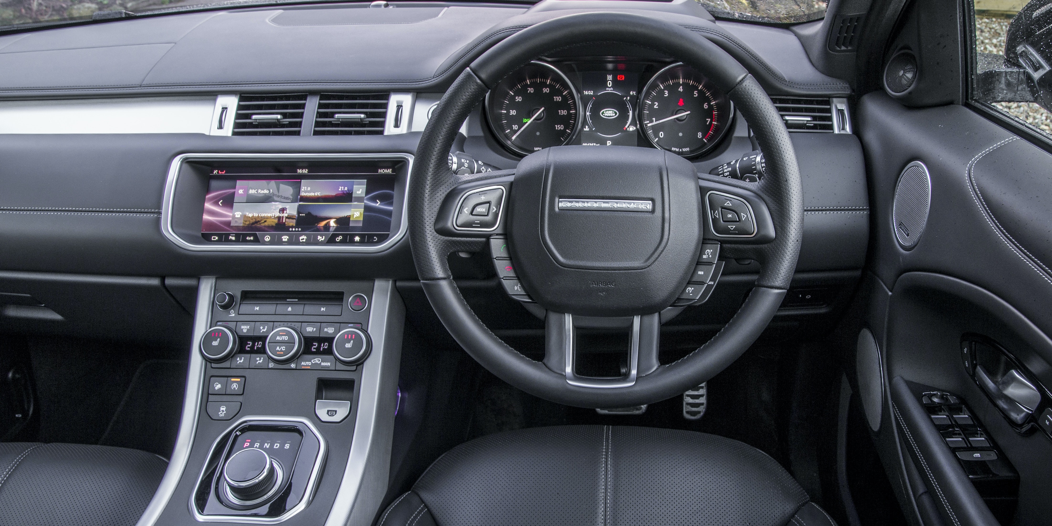 Land Rover Range Rover Evoque 2015 2018 Interior Infotainment