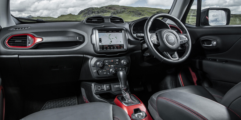 Jeep Renegade Interior >> Jeep Renegade Interior Infotainment Carwow