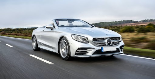 5. Mercedes S-Class Cabriolet