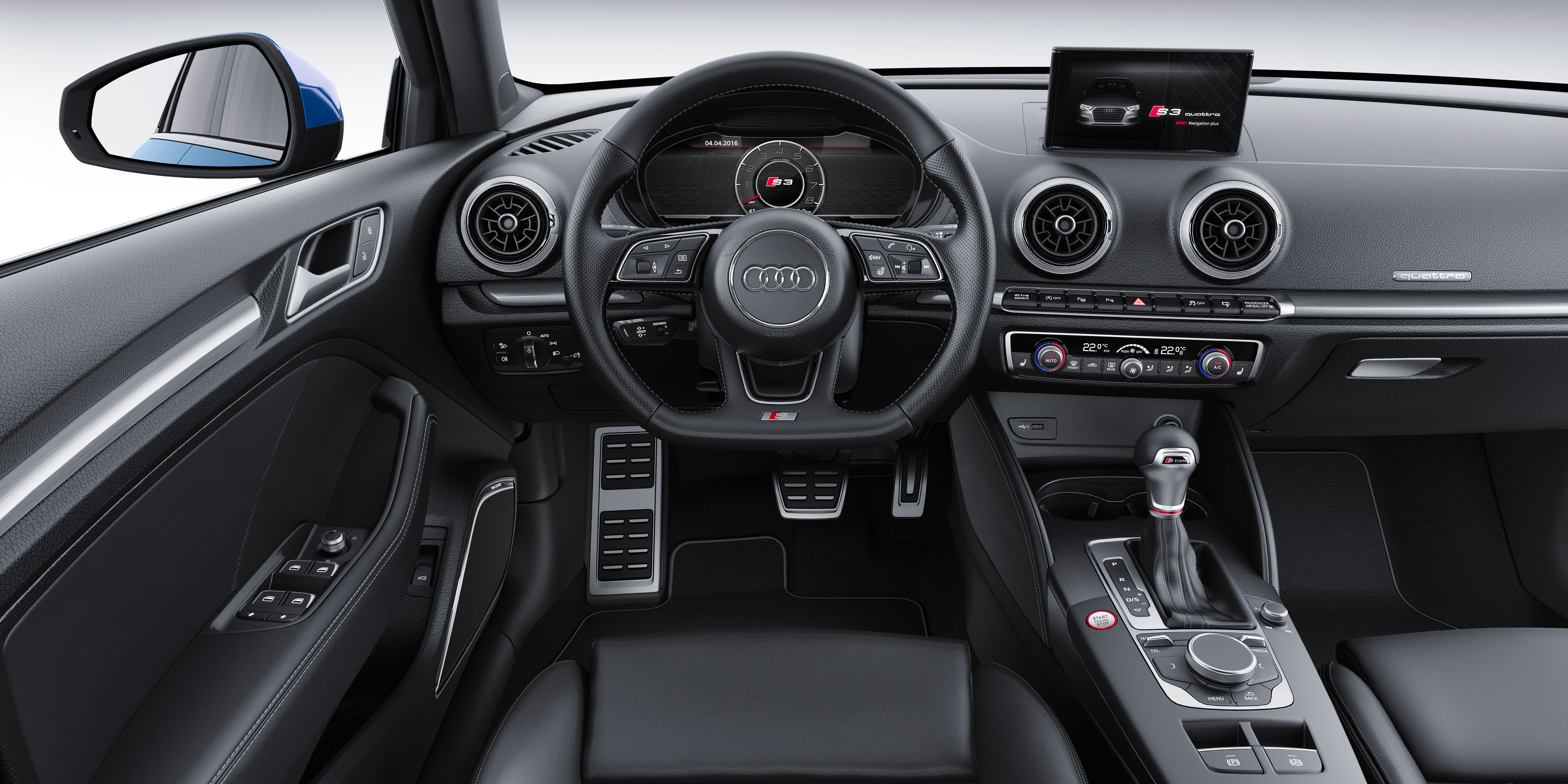 Audi S3 Saloon 2017 2020 Interior Infotainment Carwow