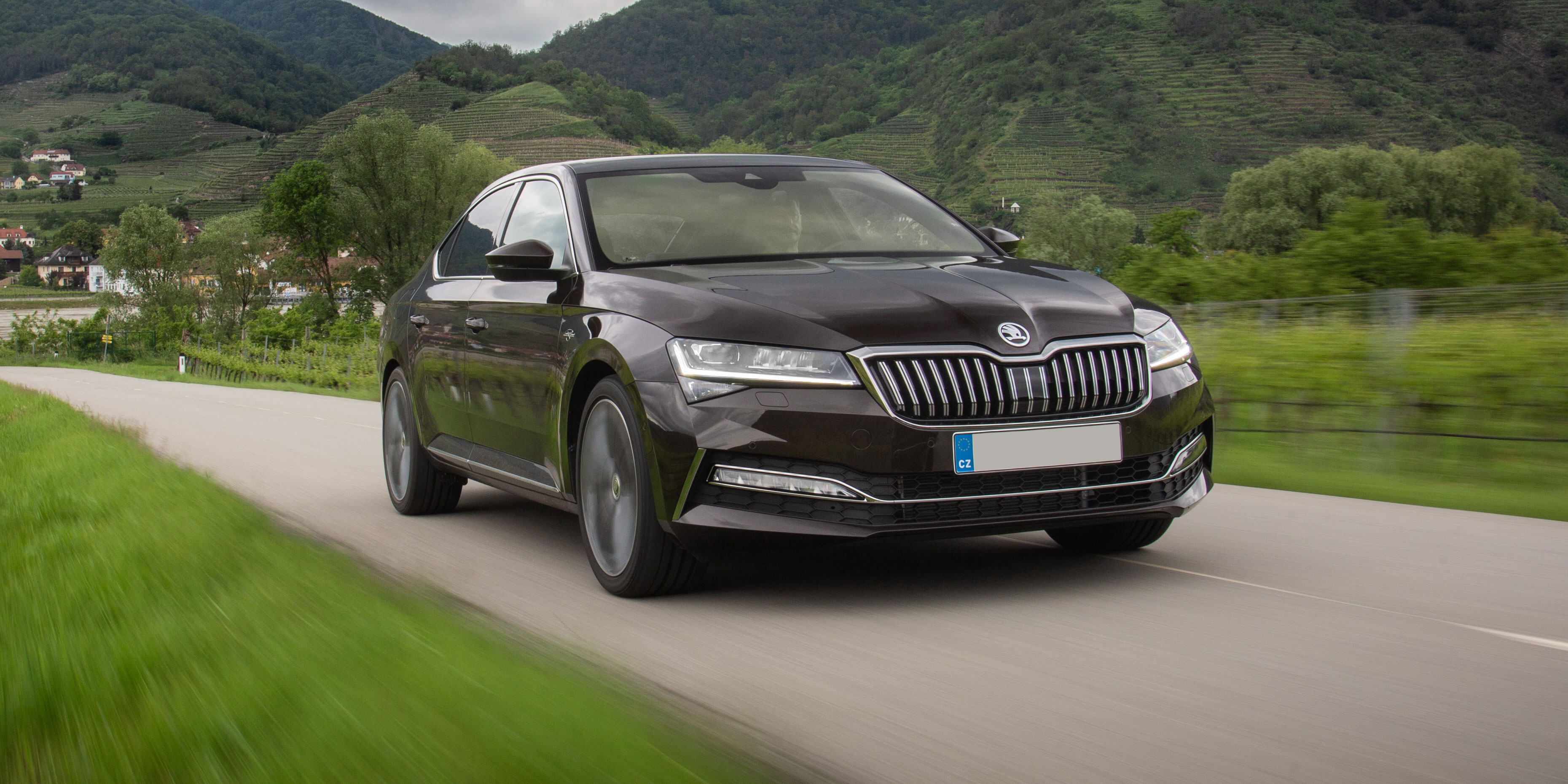 New Skoda Superb Review Carwow