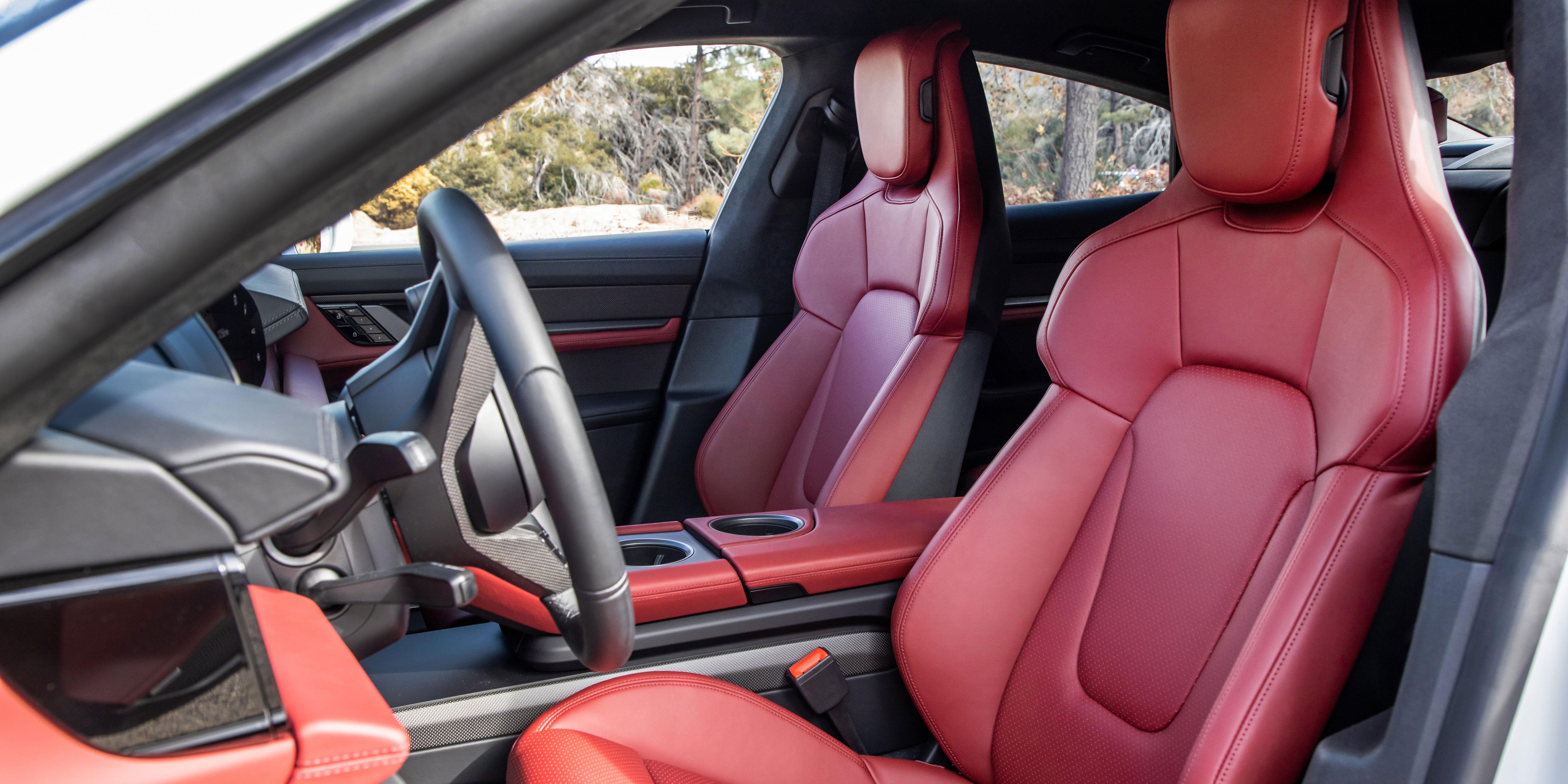 Porsche Taycan Interior Infotainment Carwow