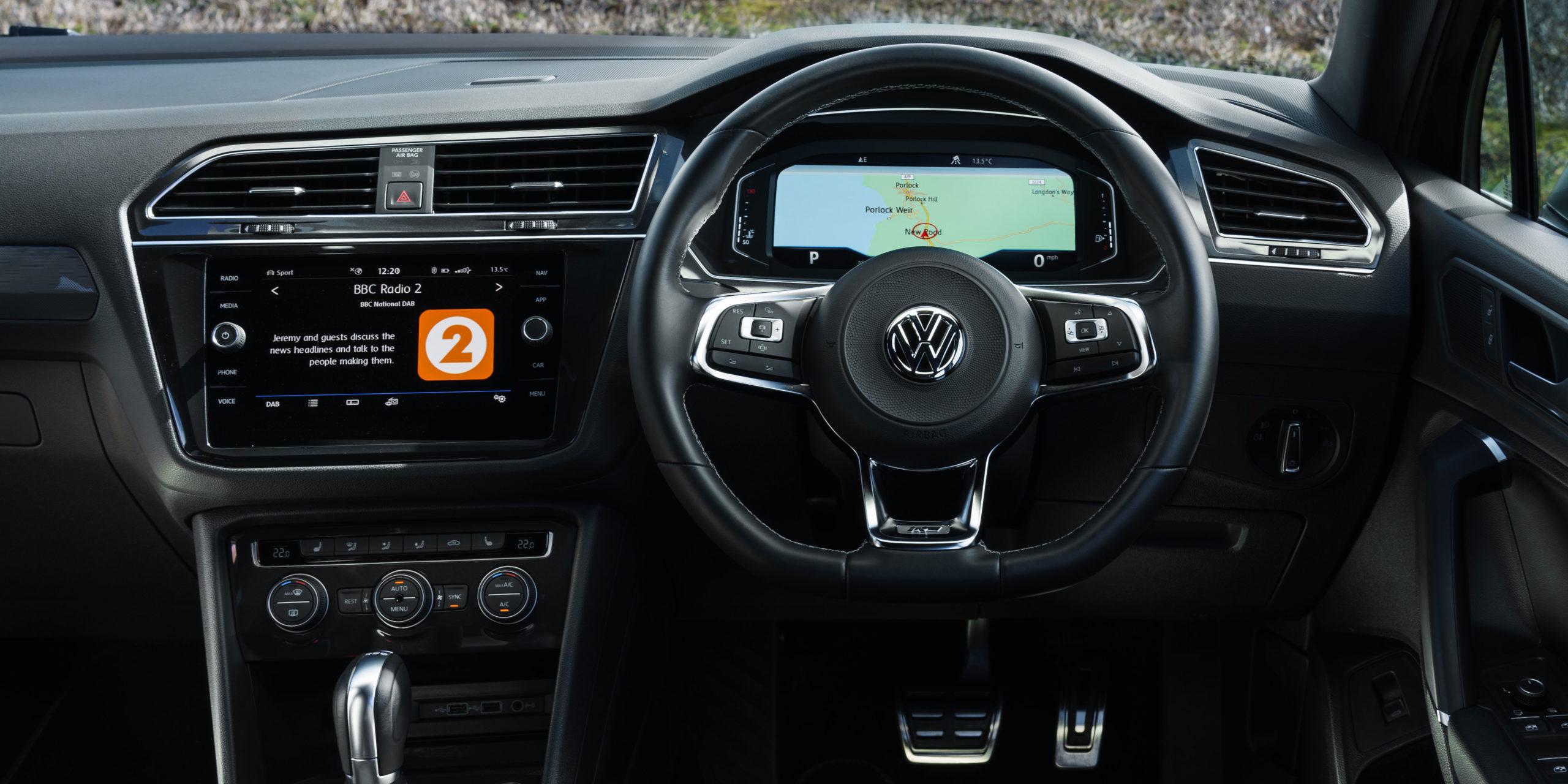 Volkswagen Tiguan Allspace Interior & Infotainment   carwow