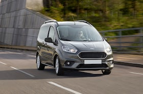 New Ford Tourneo Courier Review Carwow
