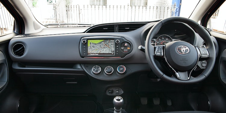 Icon Tech Models And Above Get Sat Nav As Standard The Toyota Yaris