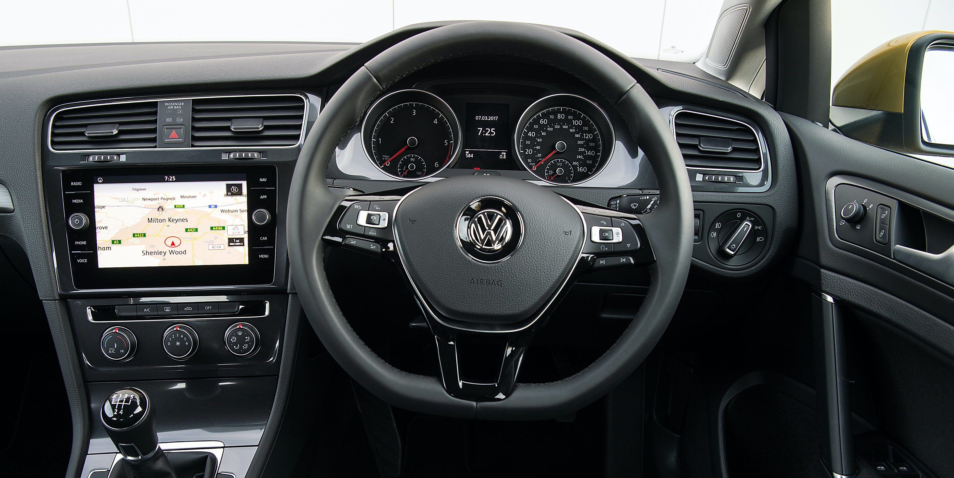 The Standard Eight Inch Infotainment Screen (pictured) Is Easy To Use