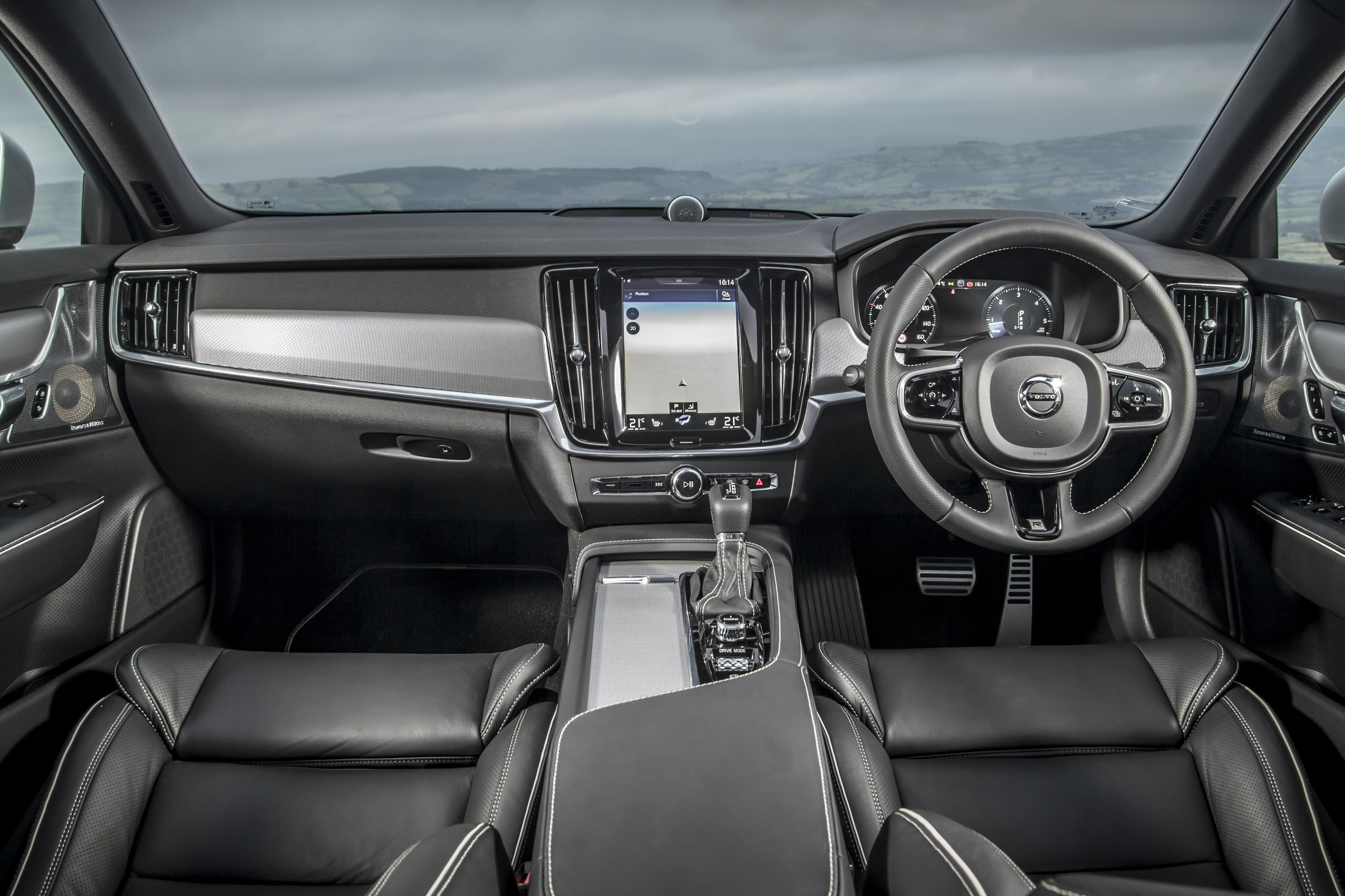 Volvo S90 Interior >> Volvo S90 Interior Infotainment Carwow