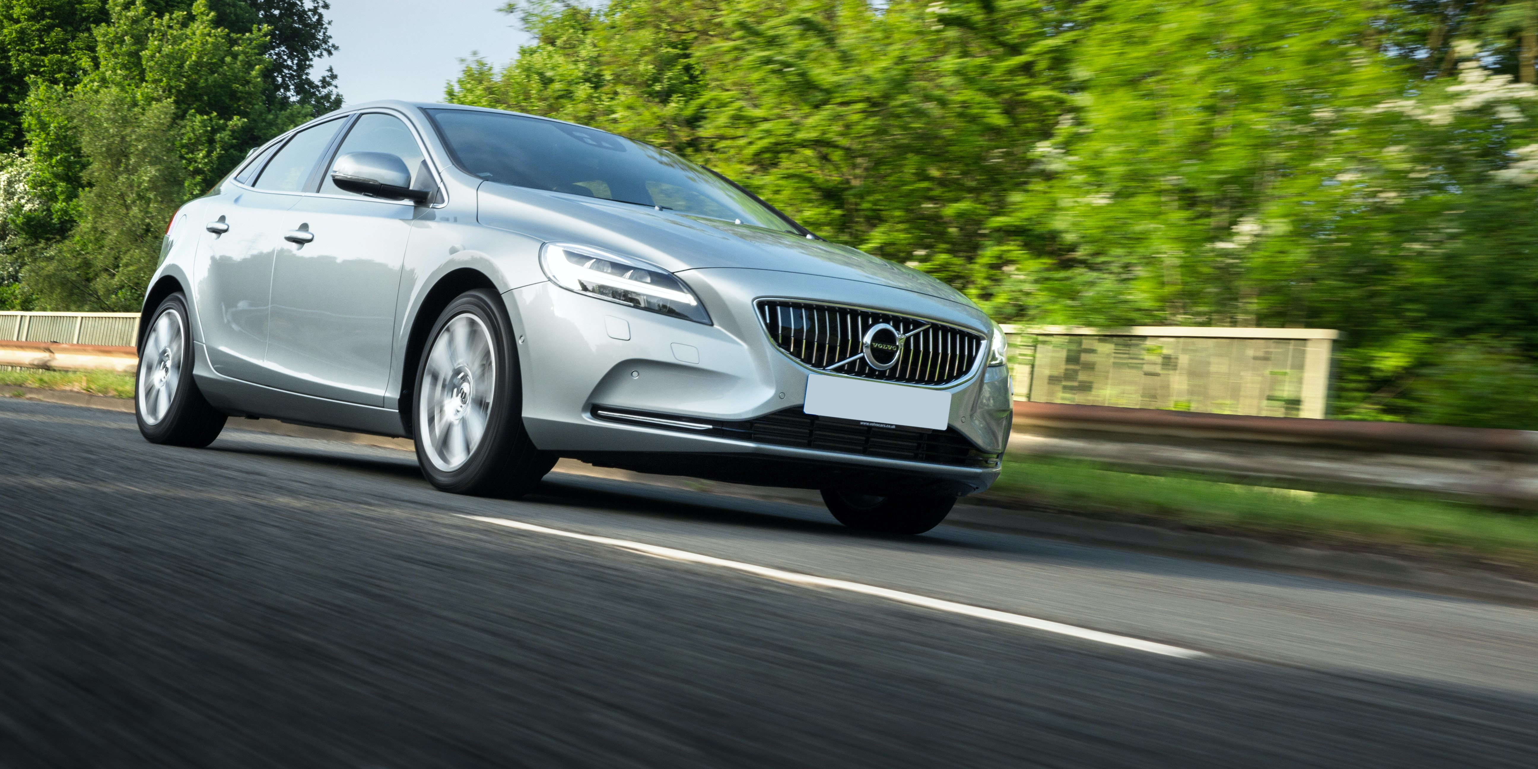 The V40 is not a very comfortable car, especially if you choose the R-Design model