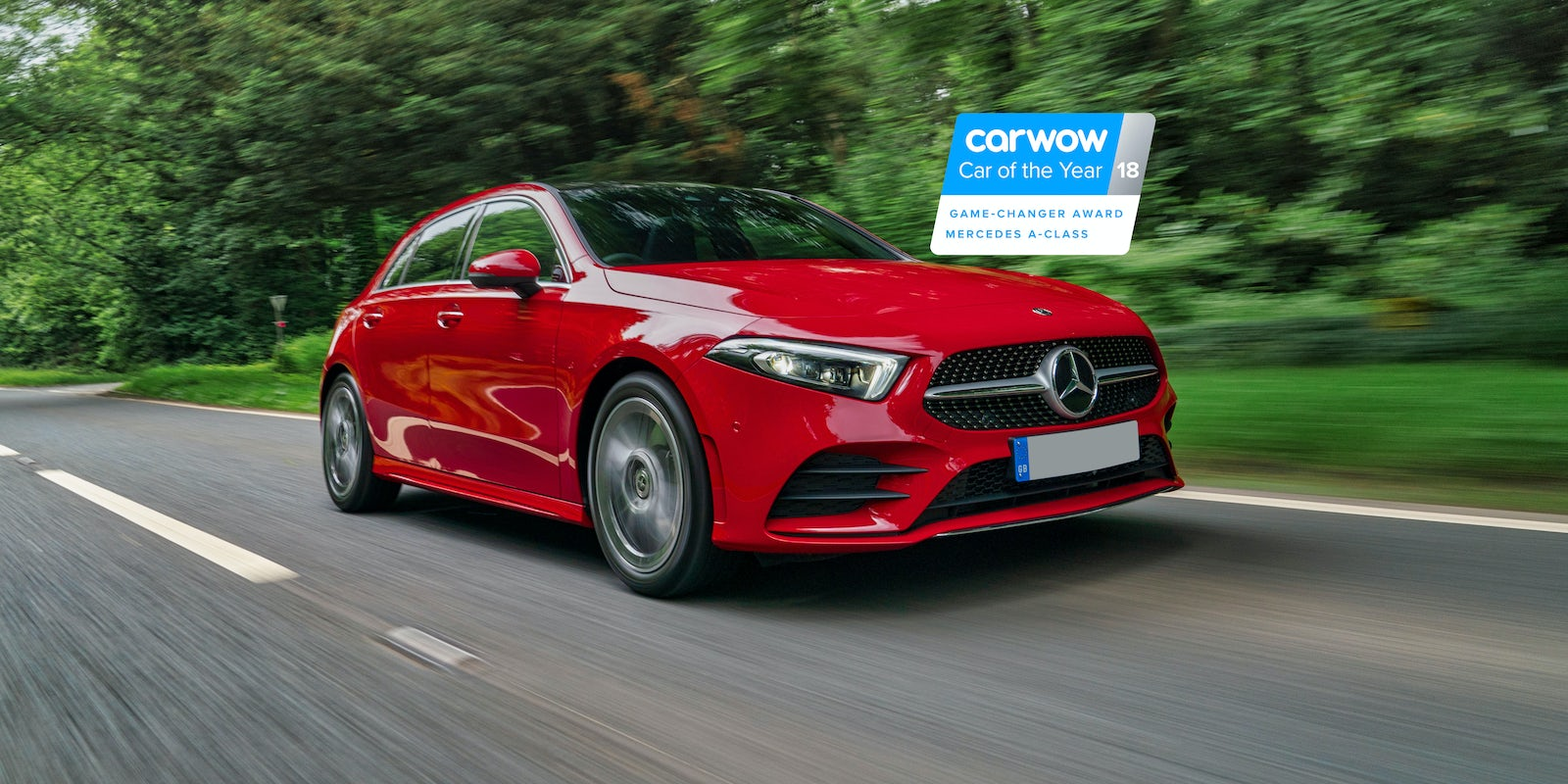 new mercedes a-class review   carwow
