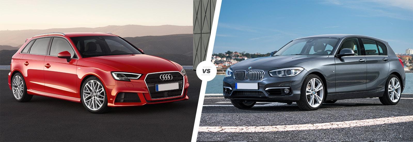 A3 Vs Serie 1 >> Audi A3 vs BMW 1 Series hatchback comparison   carwow