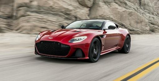 5. Aston Martin DBS Superleggera