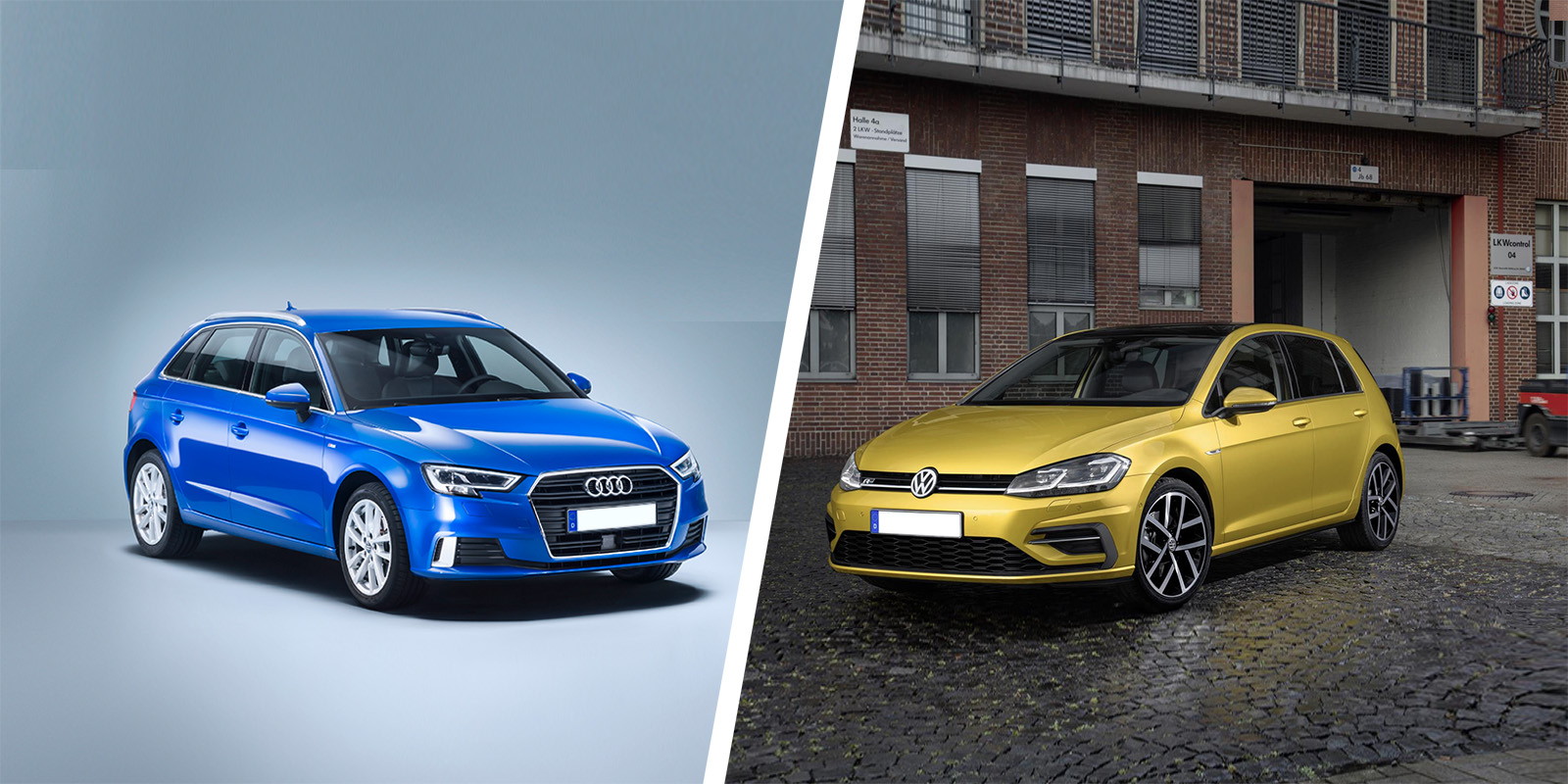 Audi A3 vs VW Golf – side-by-side comparison | carwow