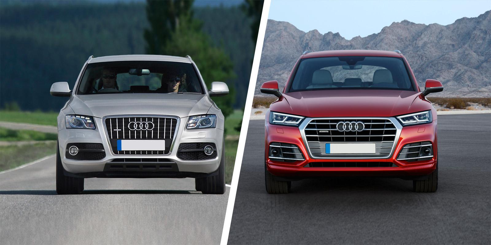 Audi Q5 SUV new vs old compared | carwow