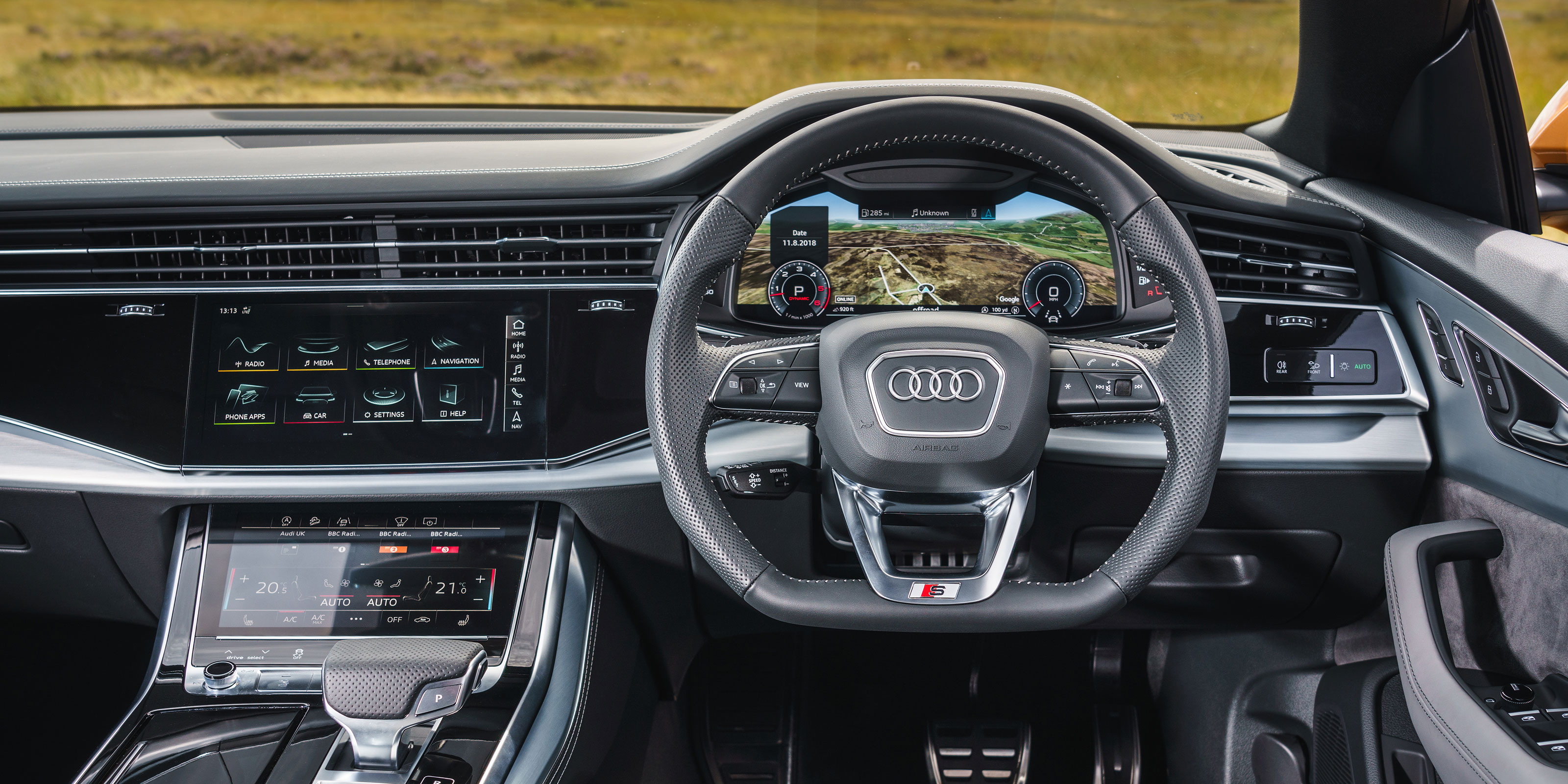 2020 Audi Q8 Design, Interior, And Price >> Audi Q8 Interior Infotainment Carwow