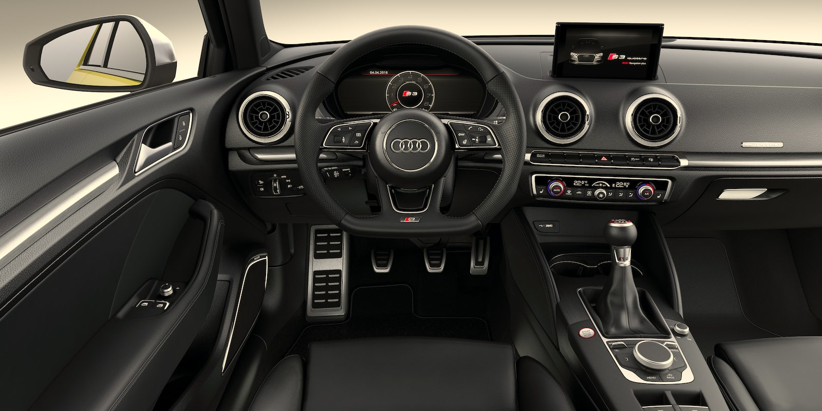 audi a3 2017 interior pictures. Black Bedroom Furniture Sets. Home Design Ideas