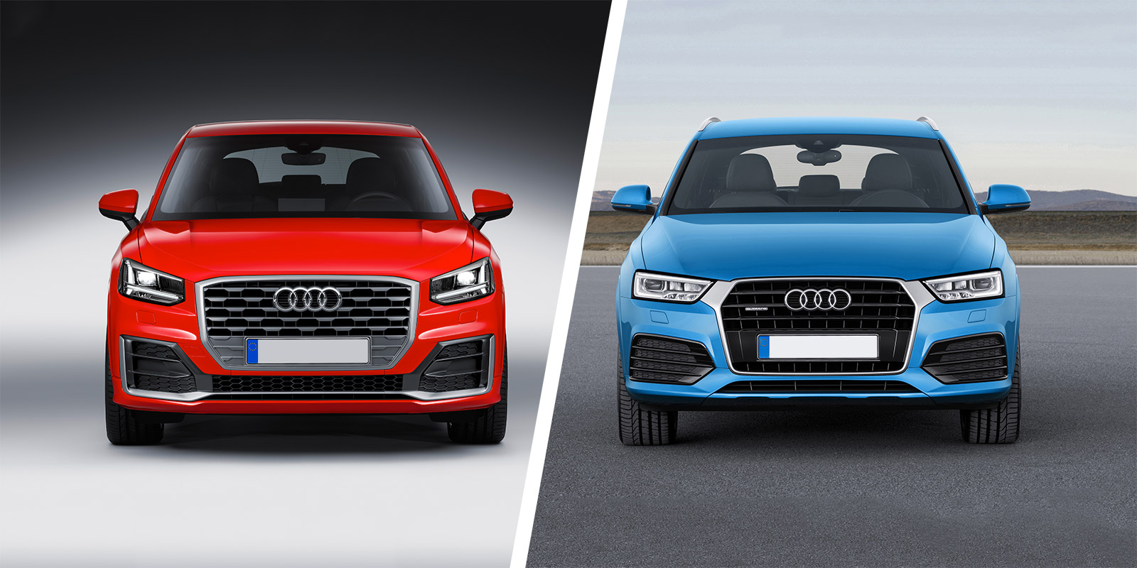 Audi Q2 Vs Q3 Suv Comparison Carwow