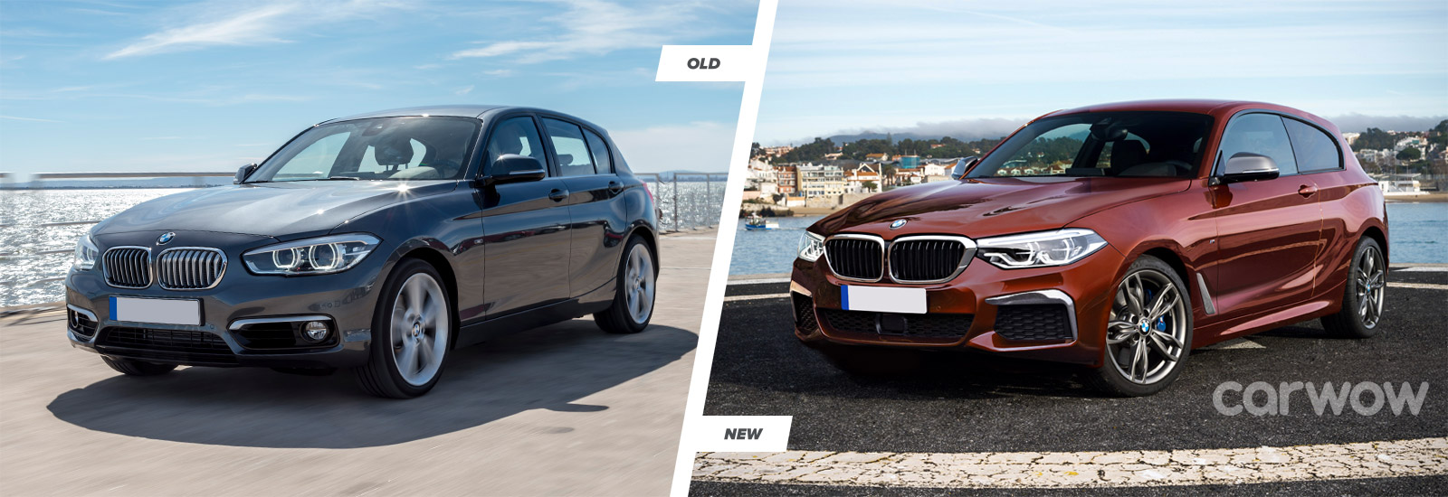 bmw 1 er 2018. beautiful bmw the old model left will receive a host of visual upgrades for 2019 with bmw 1 er 2018