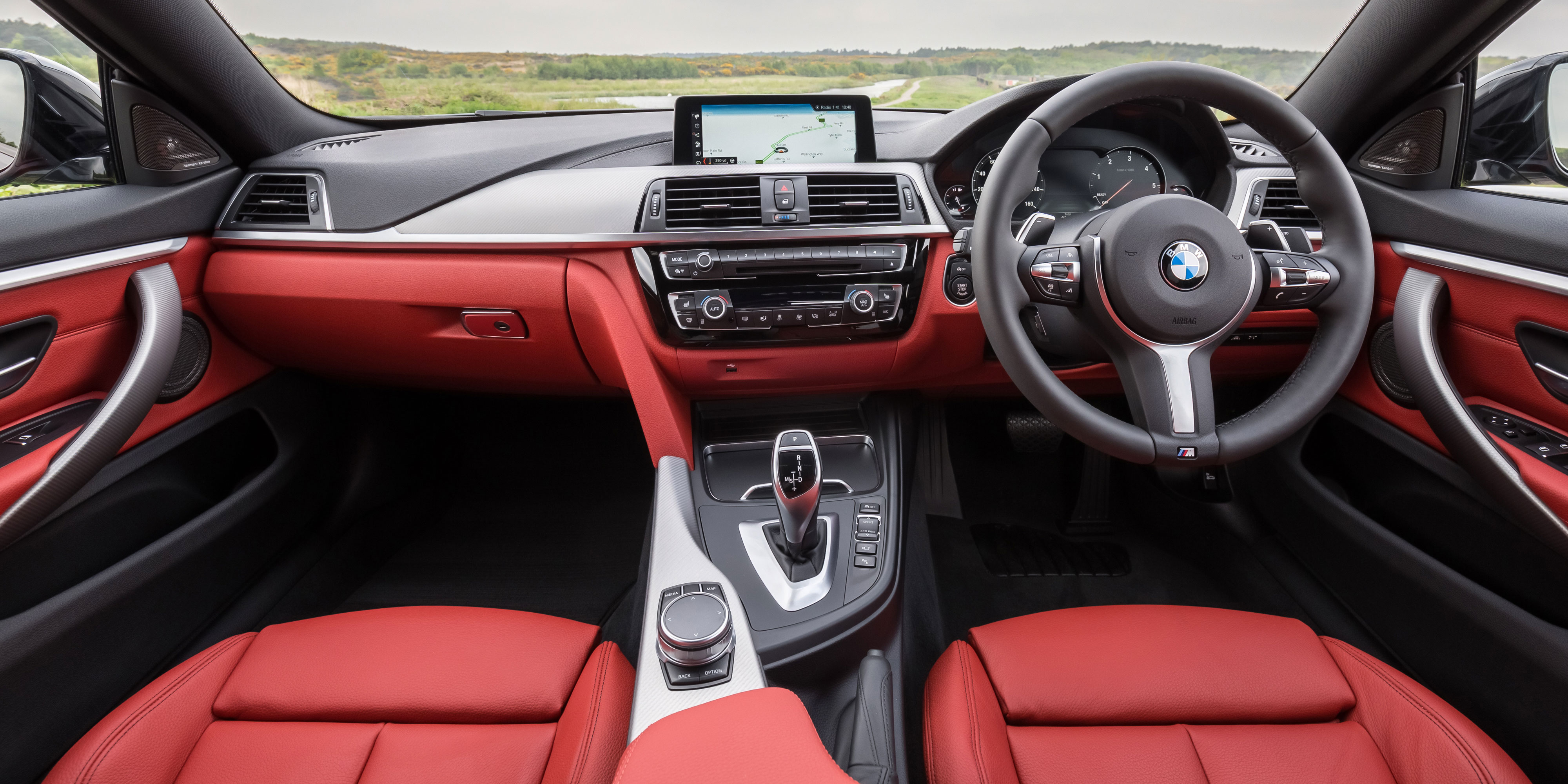 Bmw 4 Series Red Interior