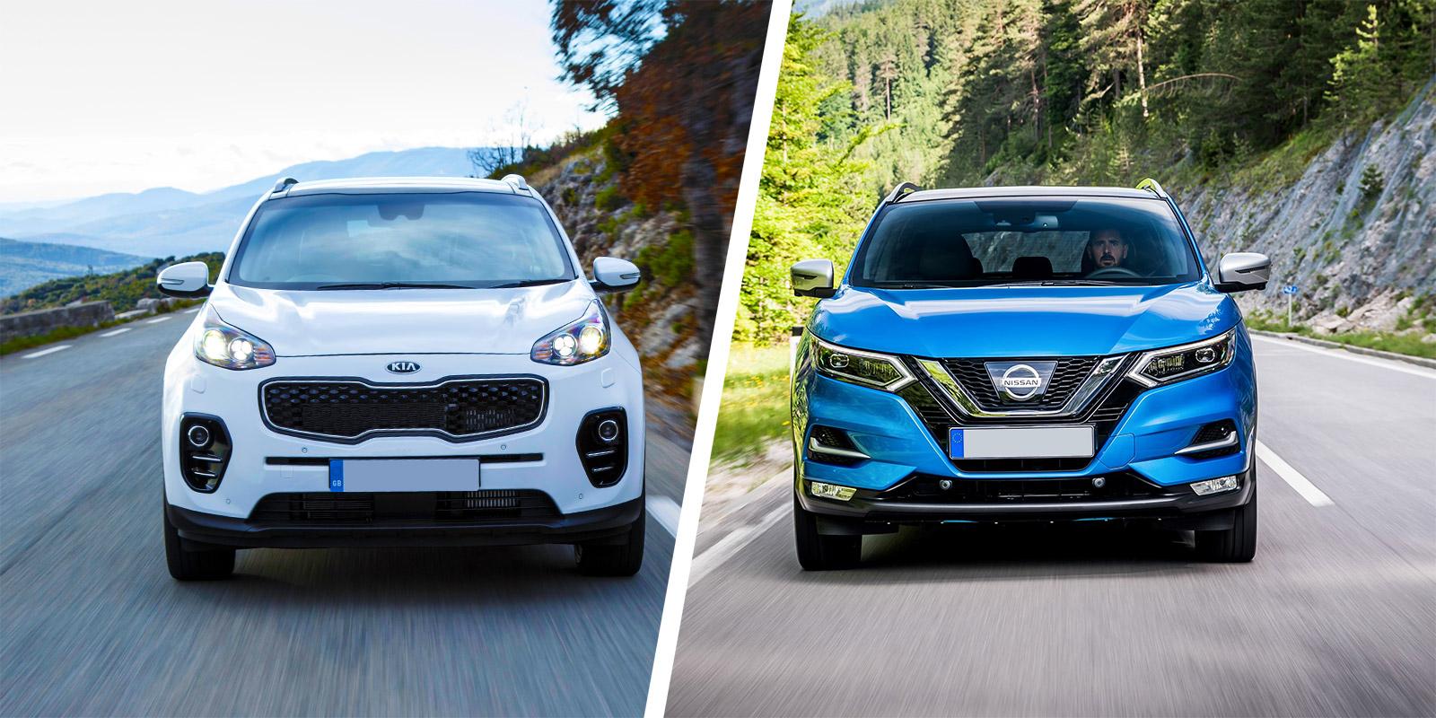 Kia Sportage Vs Nissan Qashqai Which Is Best Carwow