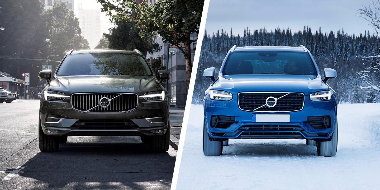 Volvo Xc60 Vs Volvo Xc90 Suv Comparison Carwow