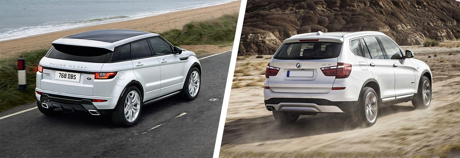 Range Rover Evoque Vs Bmw X3 Comparison Carwow