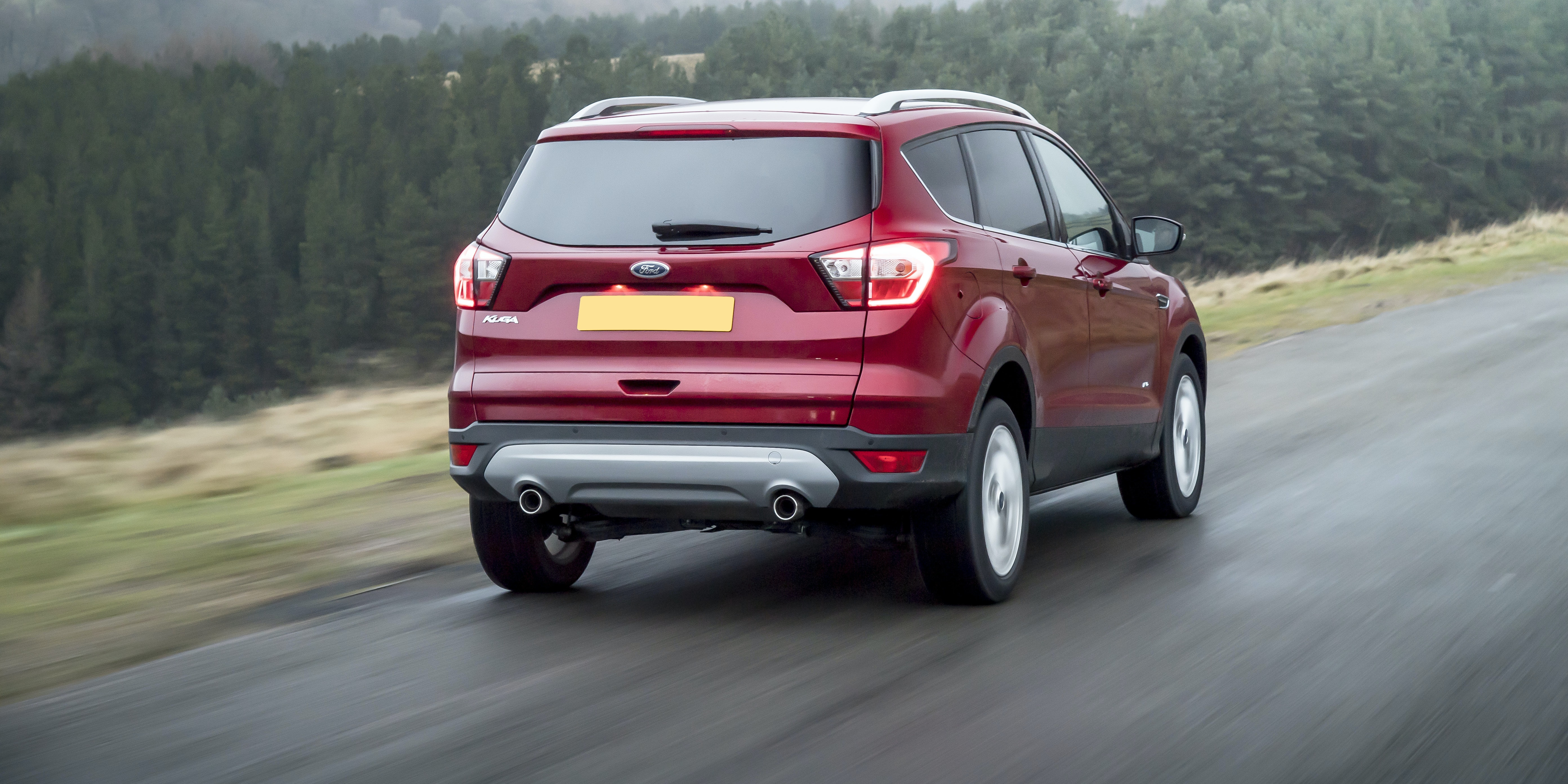 ST-Line models have stiff suspension that make the Kuga feel a bit jiggly over bumps