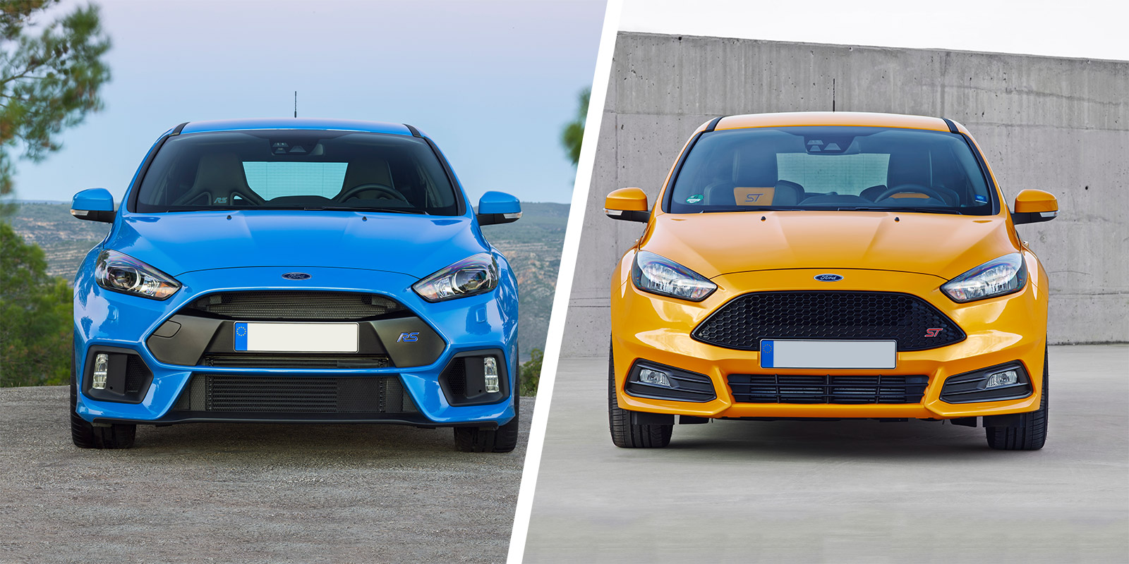 Ford Focus Rs Vs Focus St Hot Hatches Compared Carwow